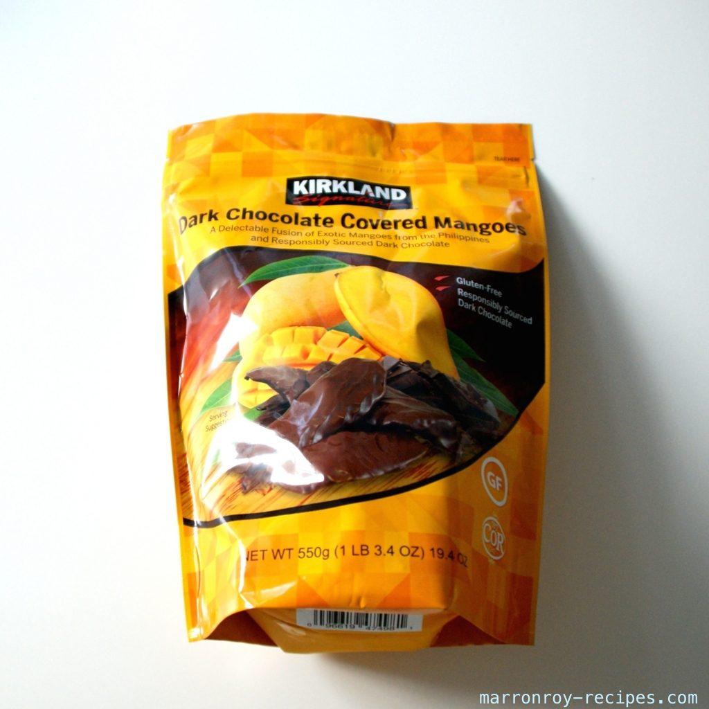"""コストコのカークランドシグネチャー""""ダークチョコレート マンゴー""""っておいしいの?"""