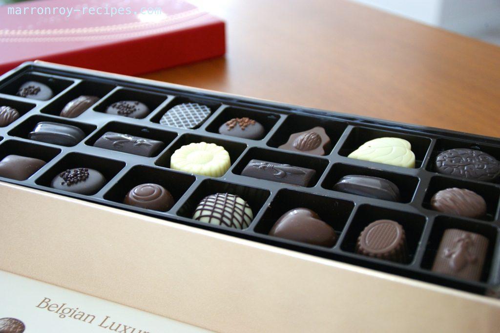 """コストコのバレンタインチョコレート第1弾""""ベルギー ラグジュアリーチョコレート"""""""