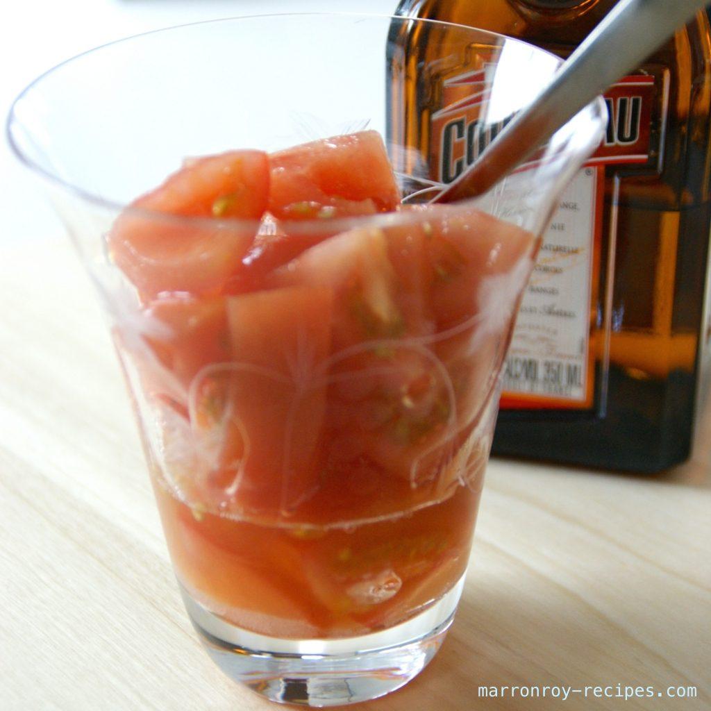 """スプーンでどうぞ!まるでフルーツみたいな""""トマトカクテル"""""""