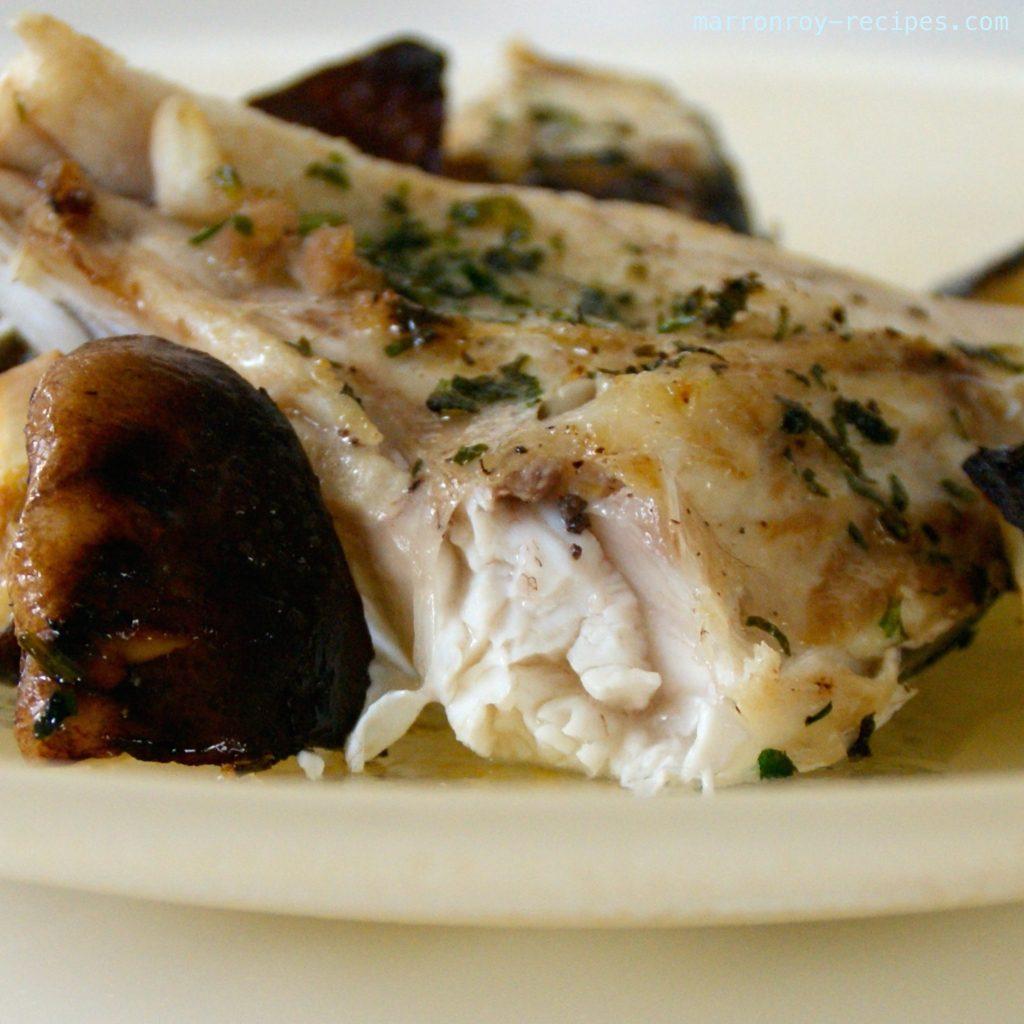 魚のアラもちょっぴりおしゃれに!カンパチのアラのオーブン焼き