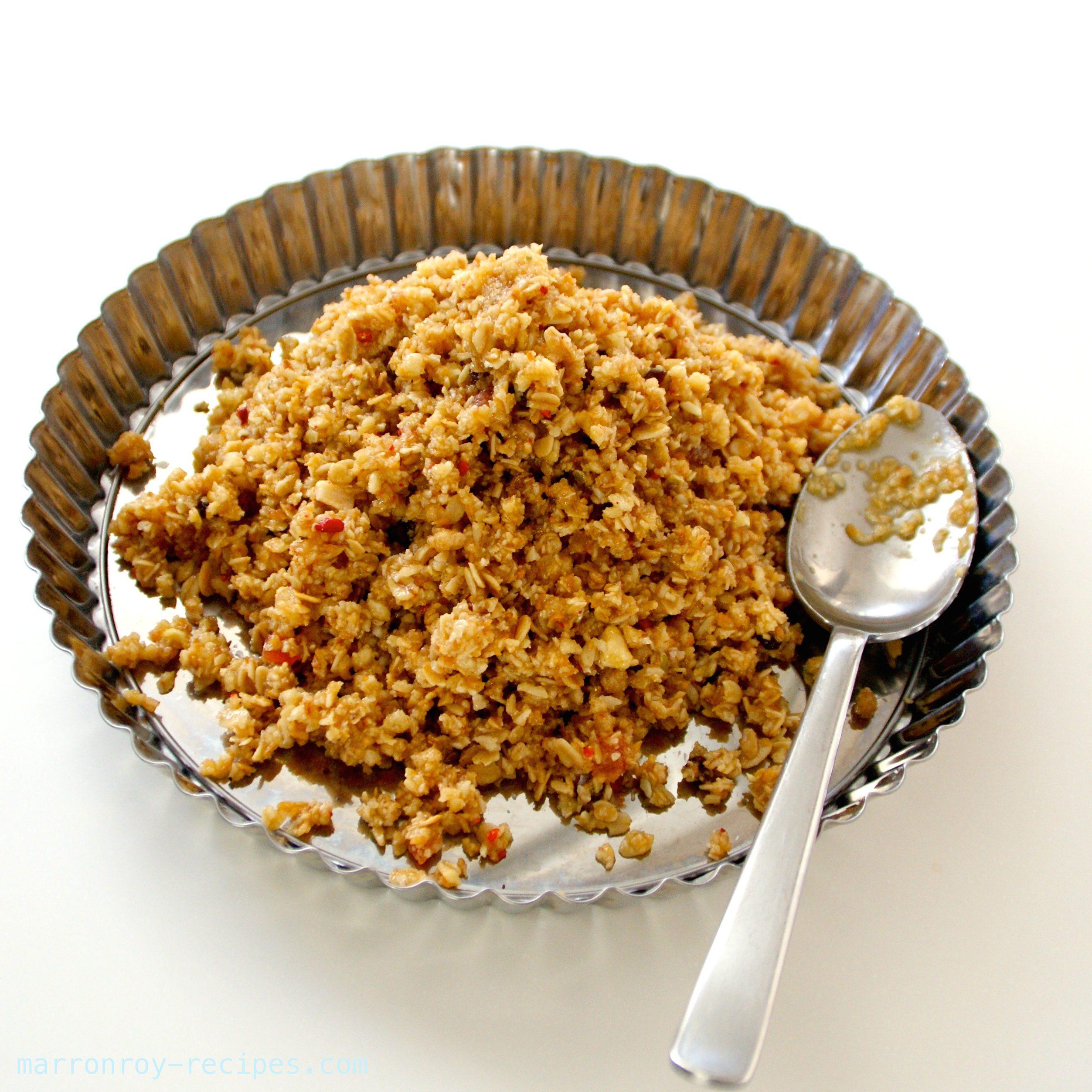 残ったフルグラ活用法!スプーンで食べる濃厚レアチーズで簡単タルト