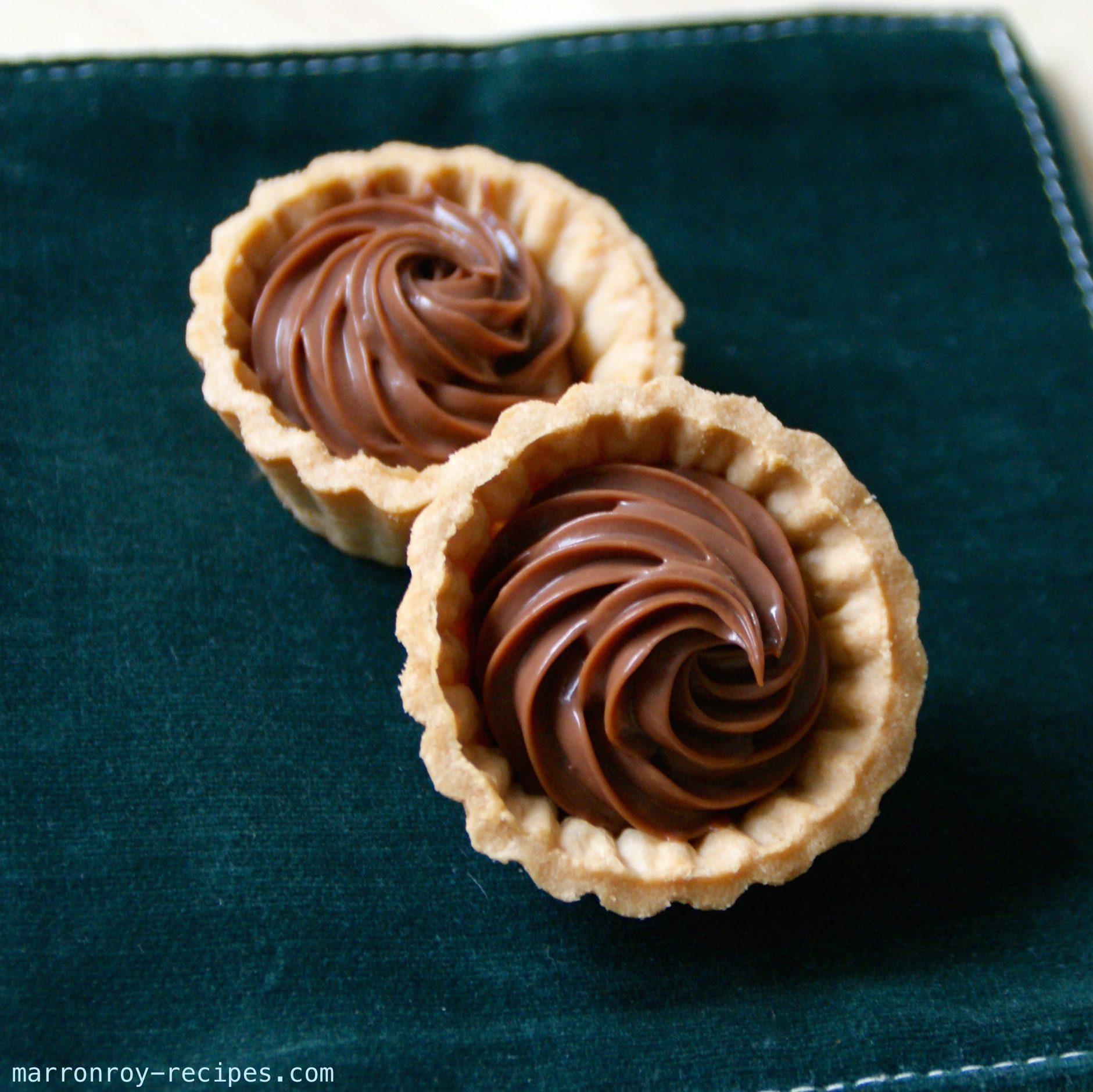 ホームパーティーにプティフールはいかが?簡単!絞り出しチョコガナッシュの作り方