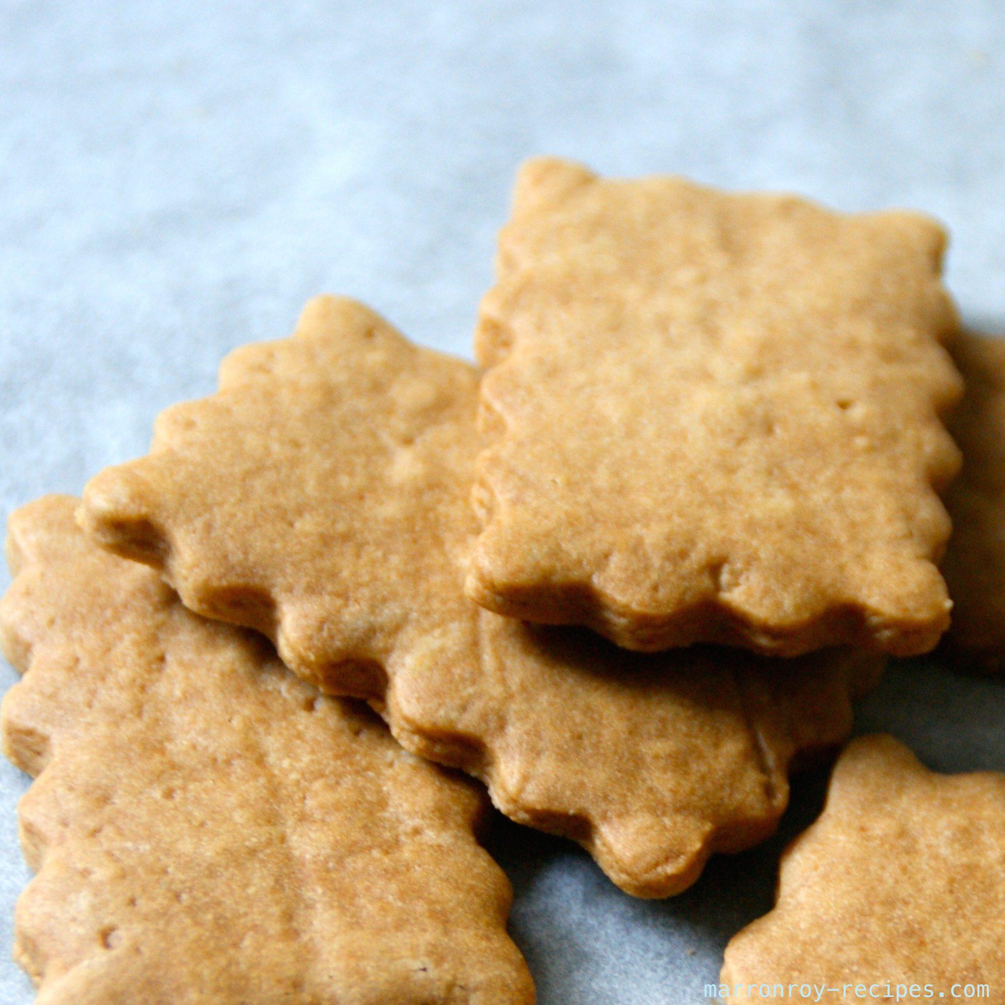 お正月のおやつにいかが?バターを入れないきなこクッキー