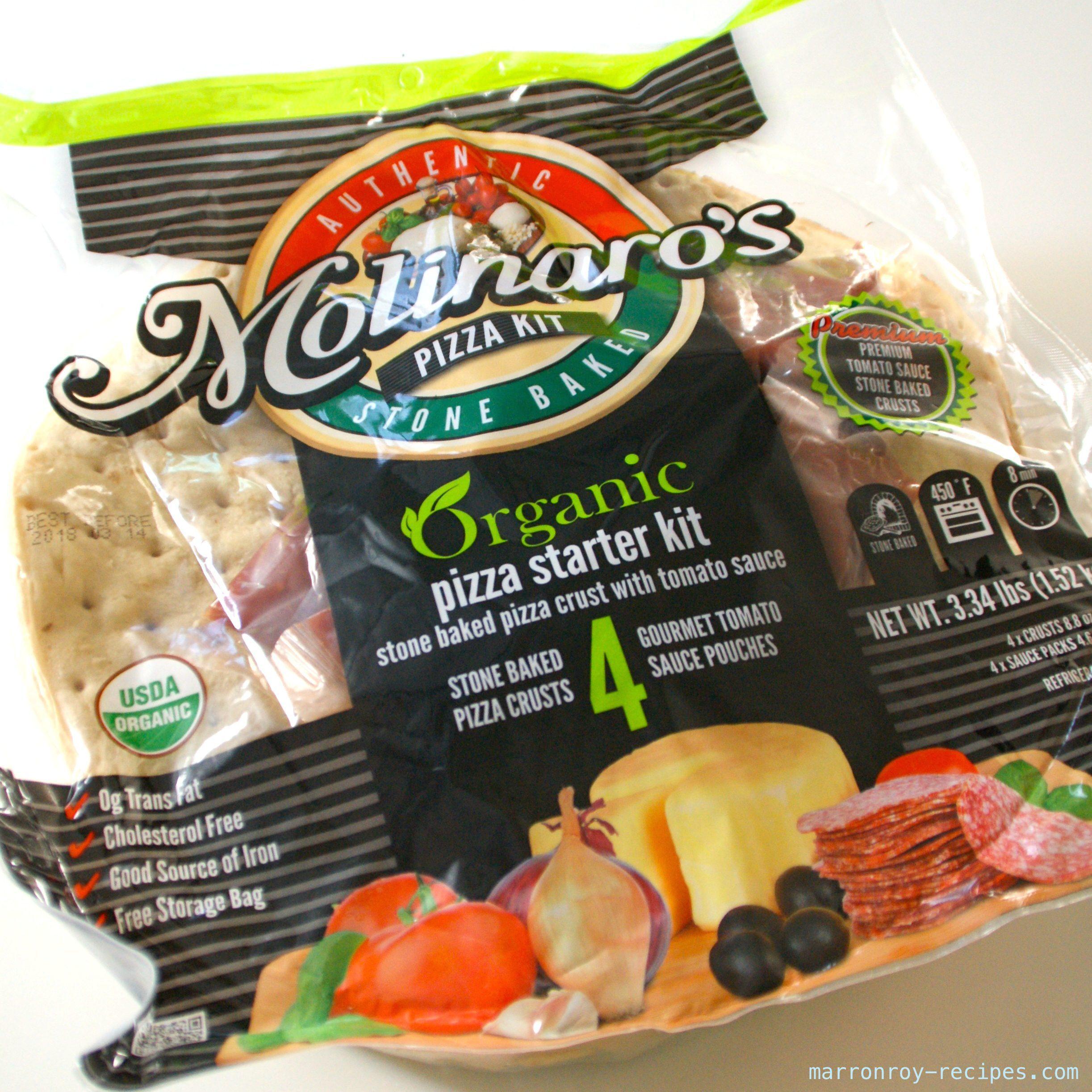 """コストコのオーガニックピザ生地""""Molinaro's PIZZA KIT""""で本格ピザを焼く"""