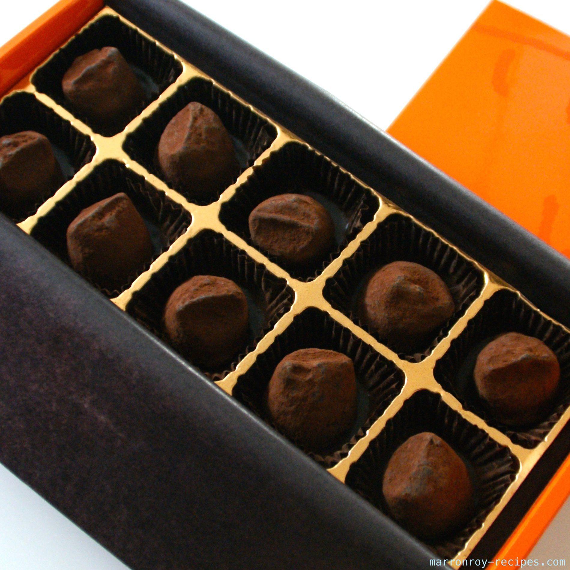 """日本のチョコレートを味わう""""メゾン・ドゥ・イッテー""""のトリュフ"""