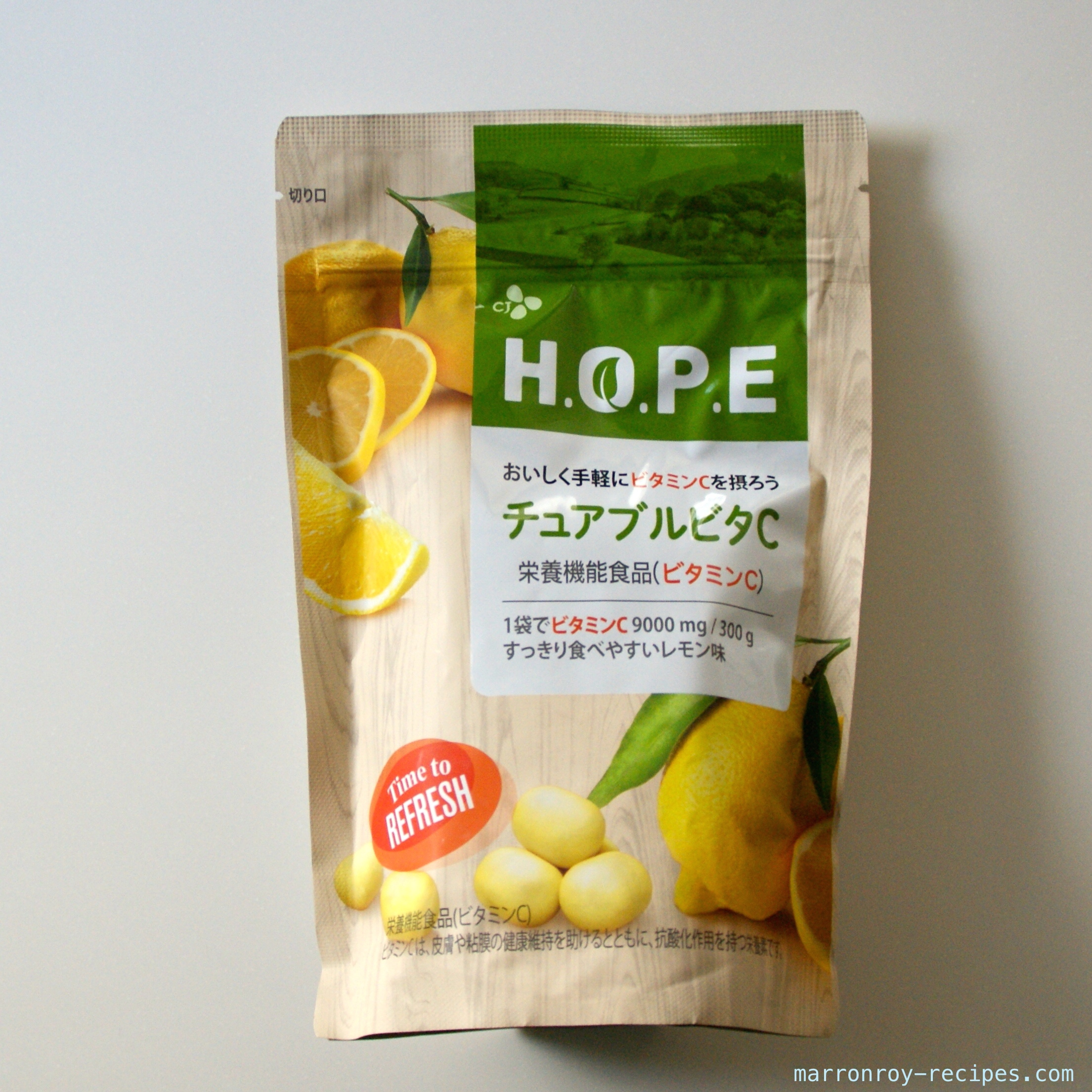"""ビタミン補給に買ってみた。H.O.P.E """"チュアブルビタC""""ってどんなもの?"""