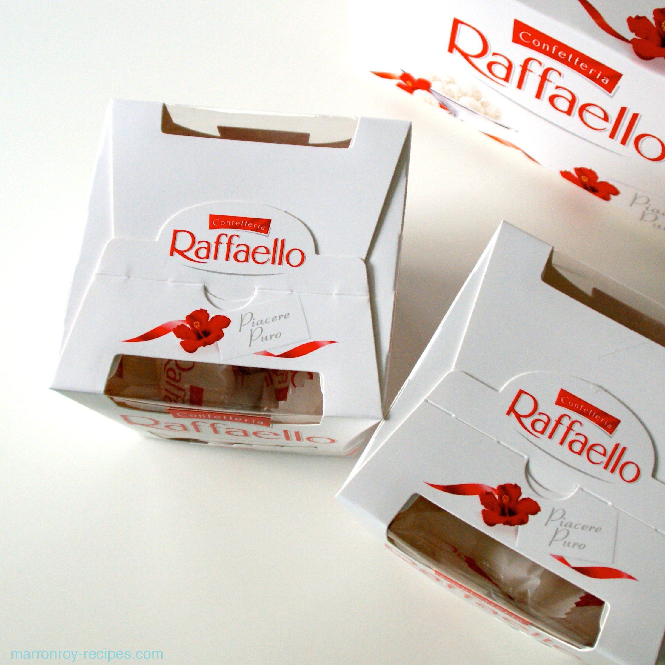 """有名チョコレート""""ロシェ""""のお仲間!FERRERO(フェレロ)の""""ラファエロ""""を購入。"""