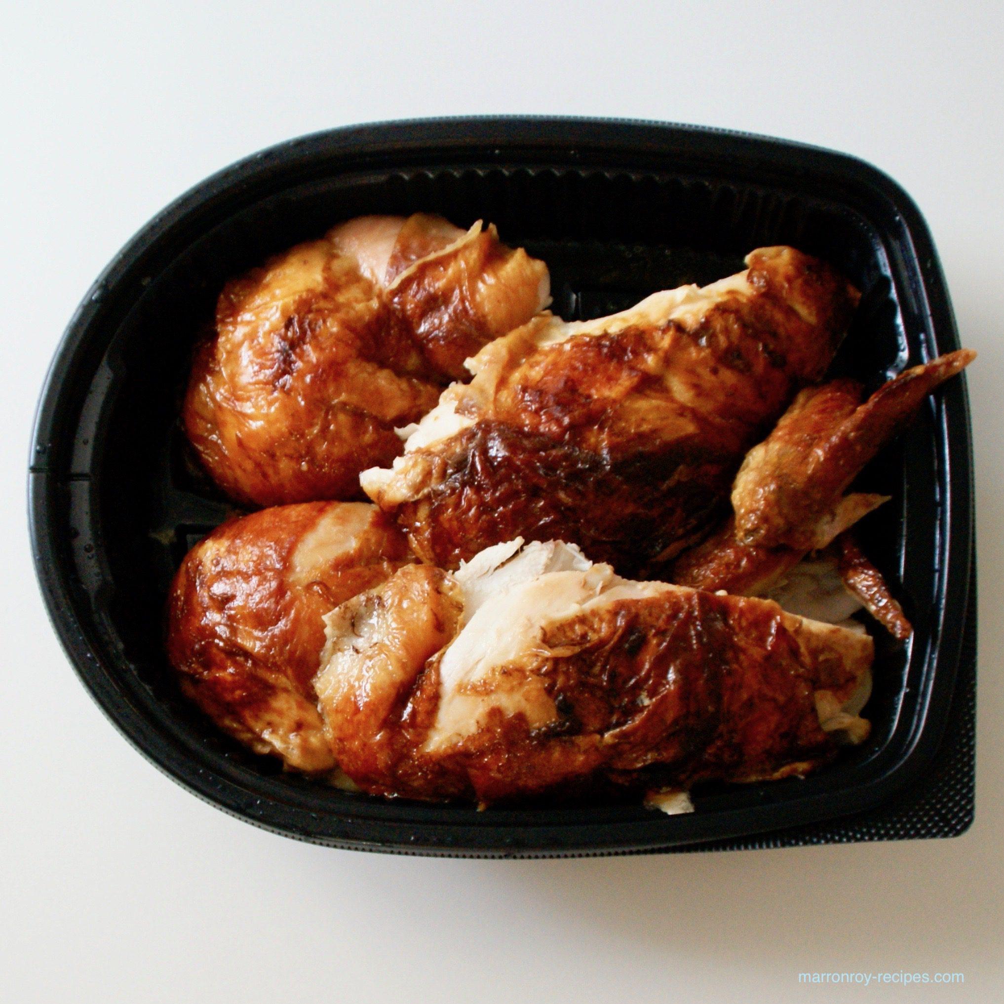 """冷凍したってパサつかない!コストコ""""ロティサリーチキン""""のおいしい焼き方"""