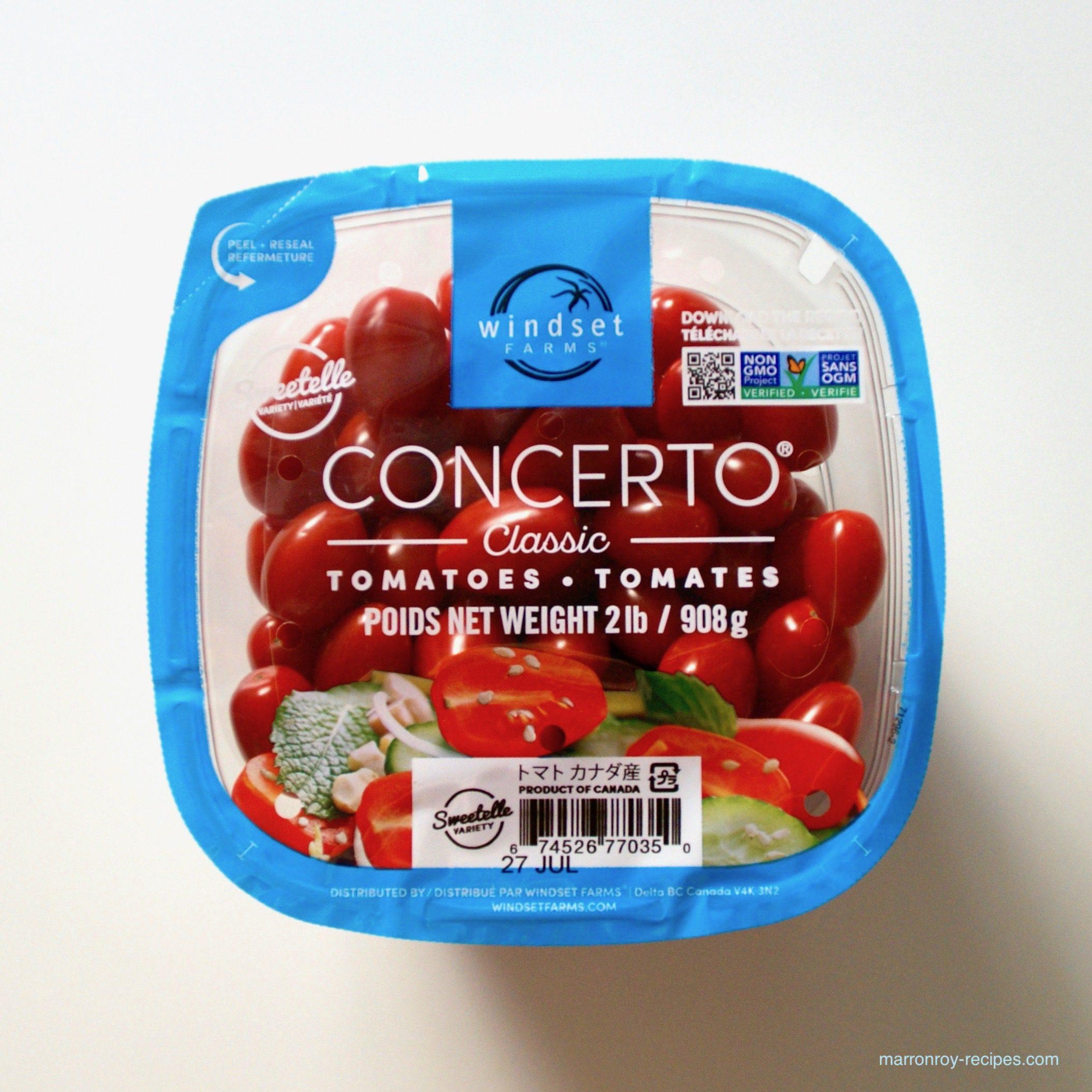 """コストコのグレープトマトがおいしくなった!?スウィーテルトマト""""コンチェルト クラシック"""""""