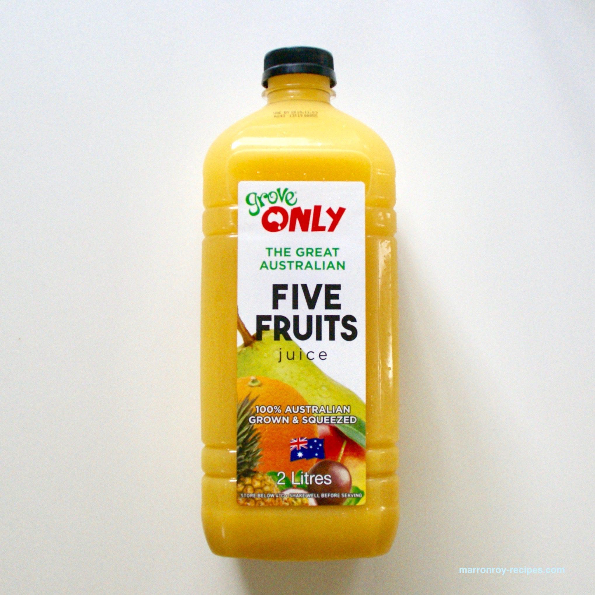 """コストコのおすすめジュース""""Grove juice オンリーファイブ フルーツジュース"""""""
