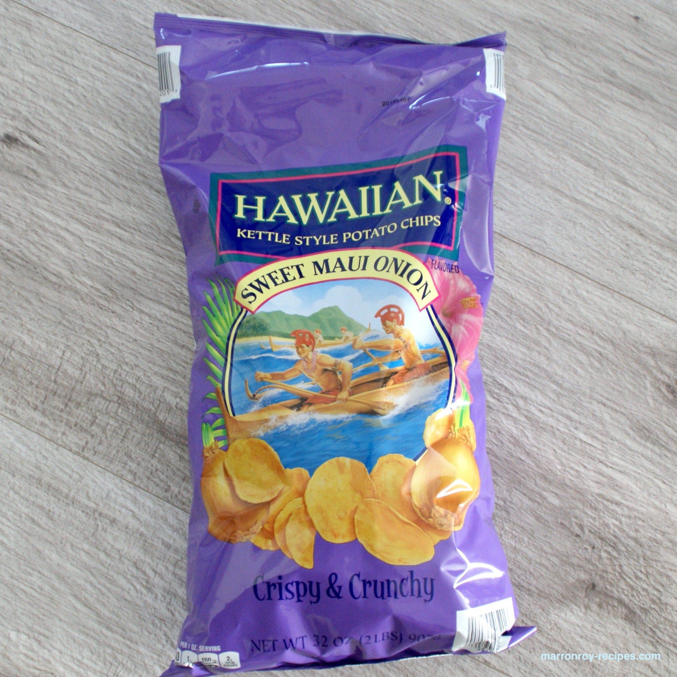 """ハワイアンのポテトチップス""""スウィート マウイ オニオン"""""""