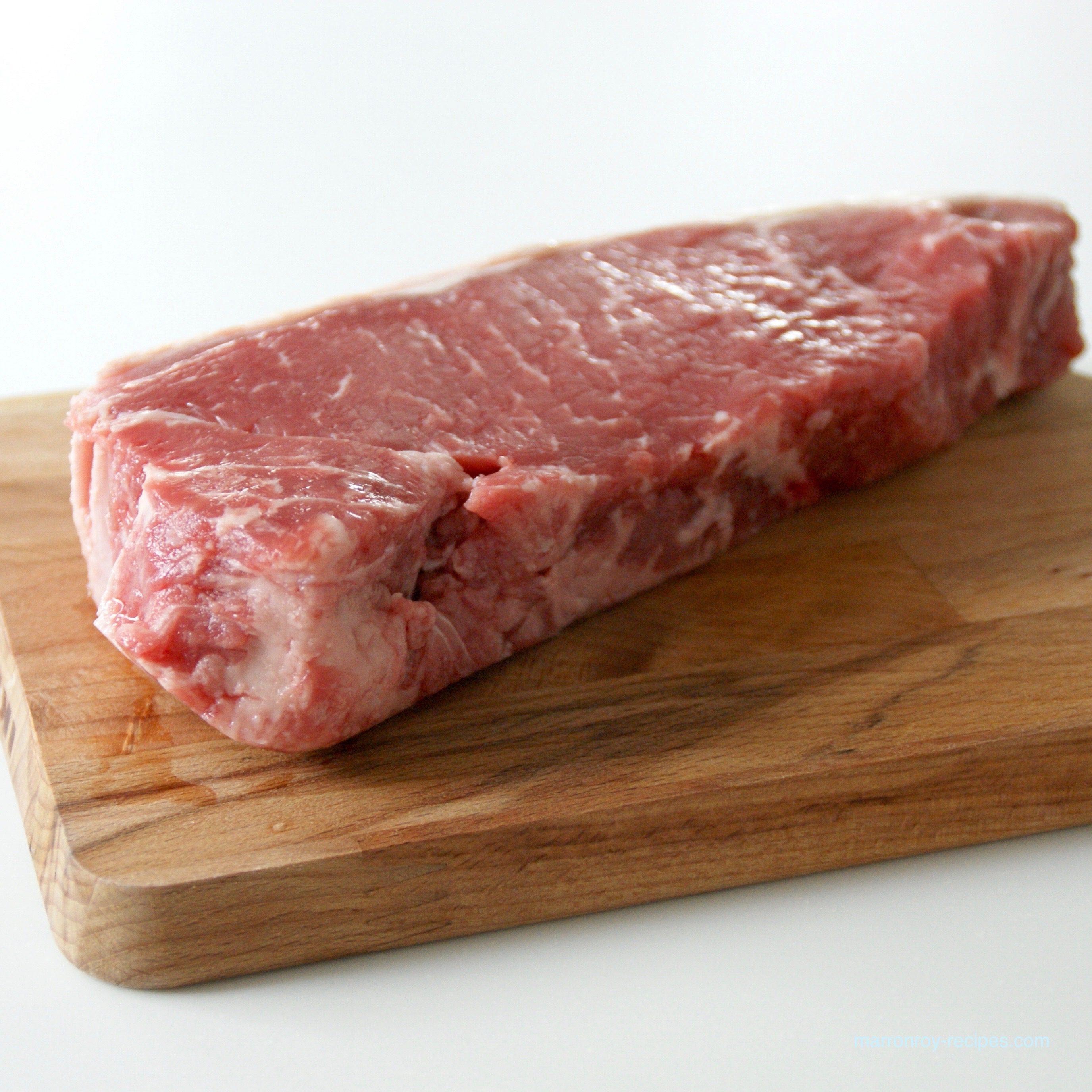 """コストコの牛肉は好きですか?""""USAチョイスグレード サーロイン ニューヨークカット"""""""
