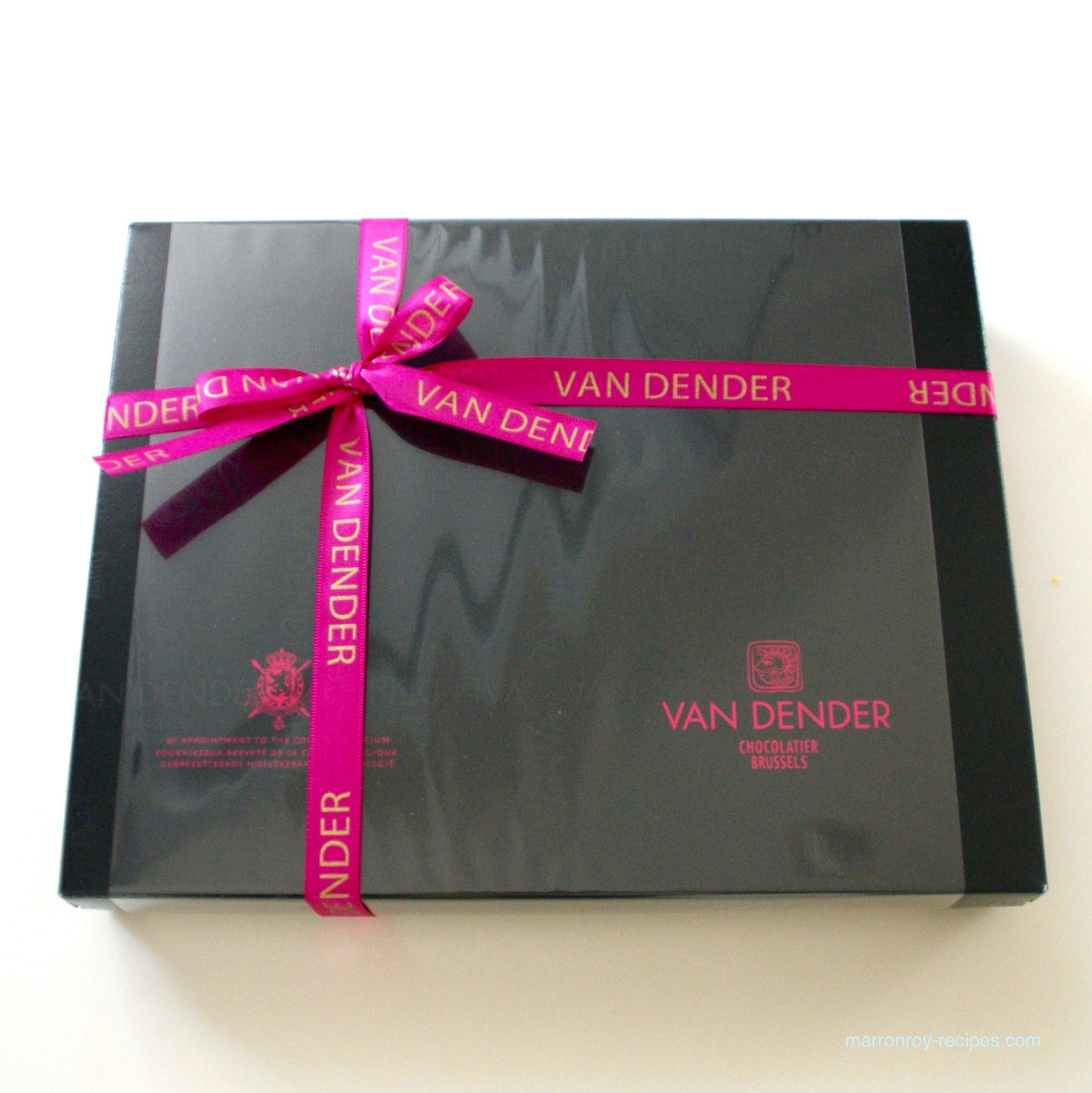 """バレンタインに""""ヴァンデンダー""""のチョコレートを食べる幸せ"""
