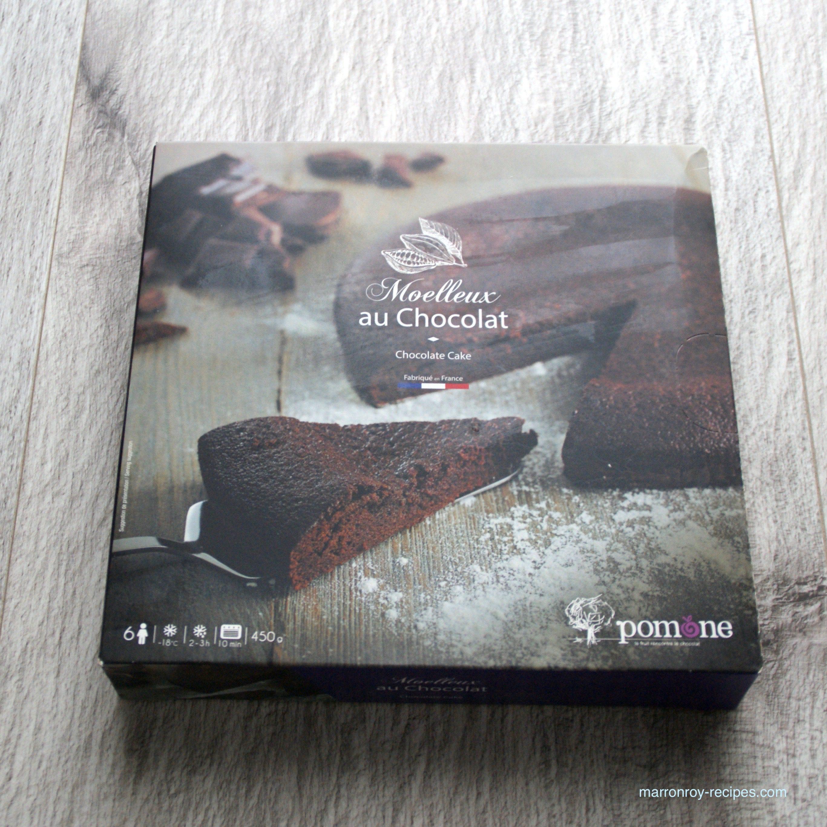"""これはおすすめ!コストコの冷凍ケーキ""""POMONE チョコレートケーキ"""""""