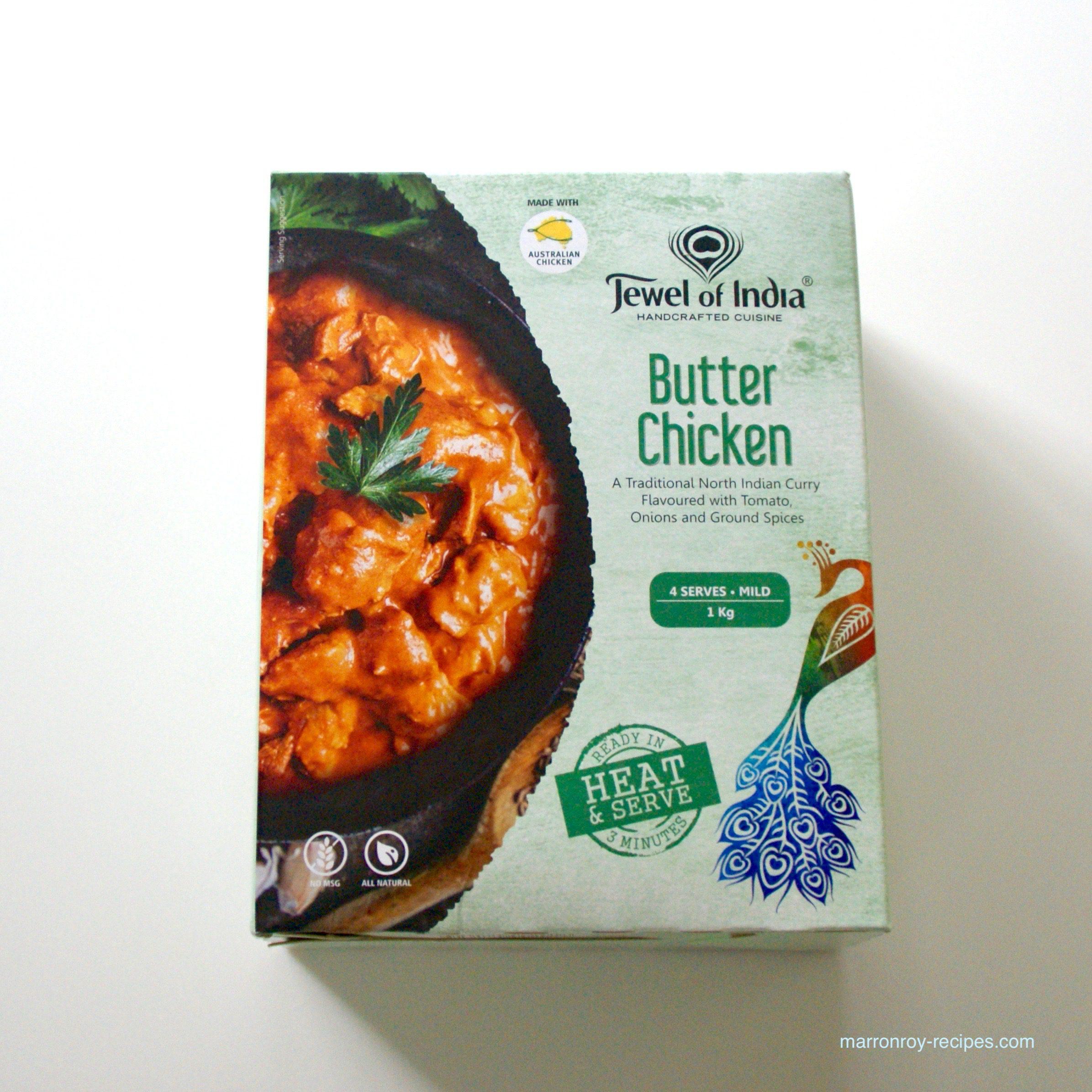 """コストコのカレー""""Jewel of India バターチキンーカレー""""を食べてみた"""