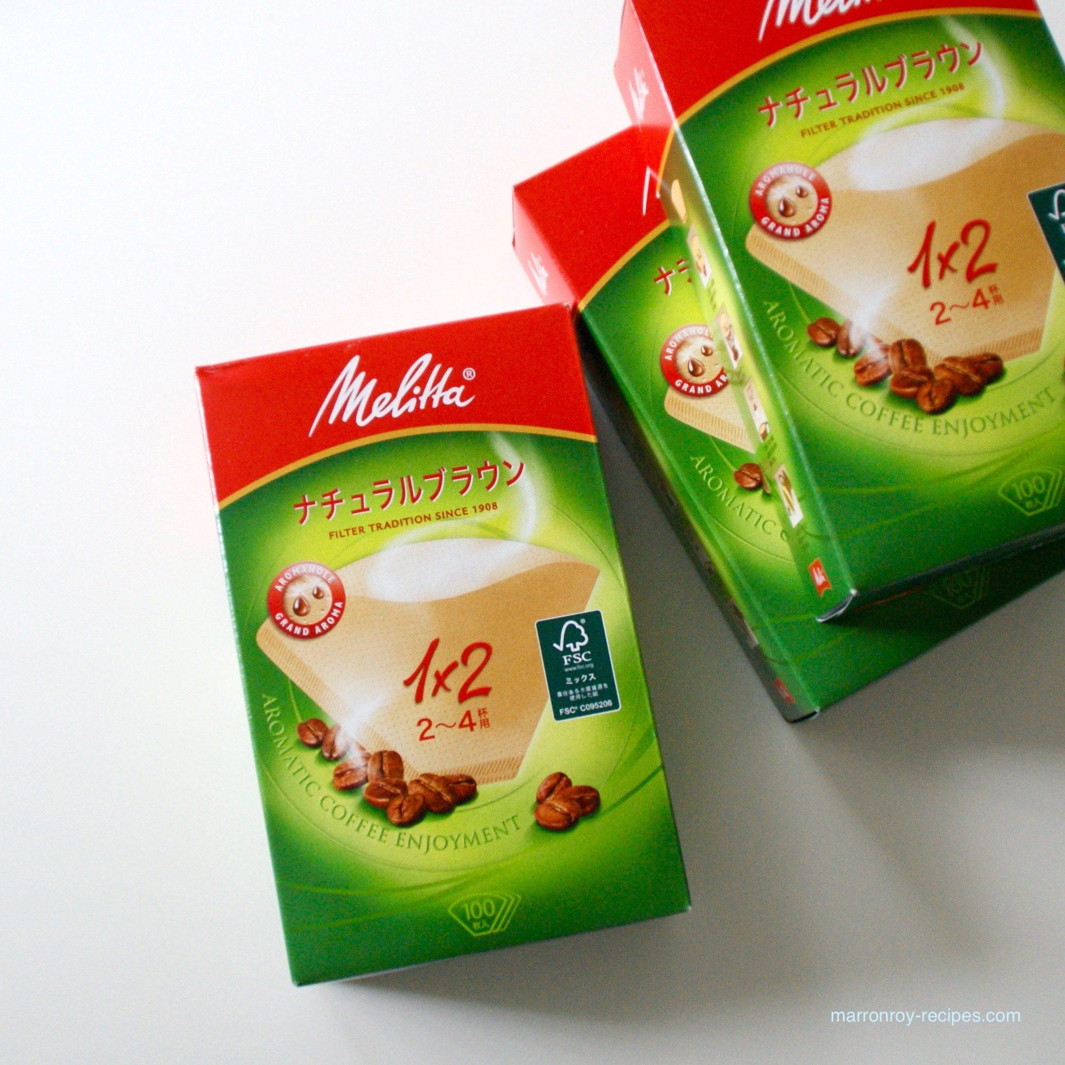 """コストコでコーヒーフィルター買ってみた!""""メリタ アロマジック ナチュラルブラウン"""""""