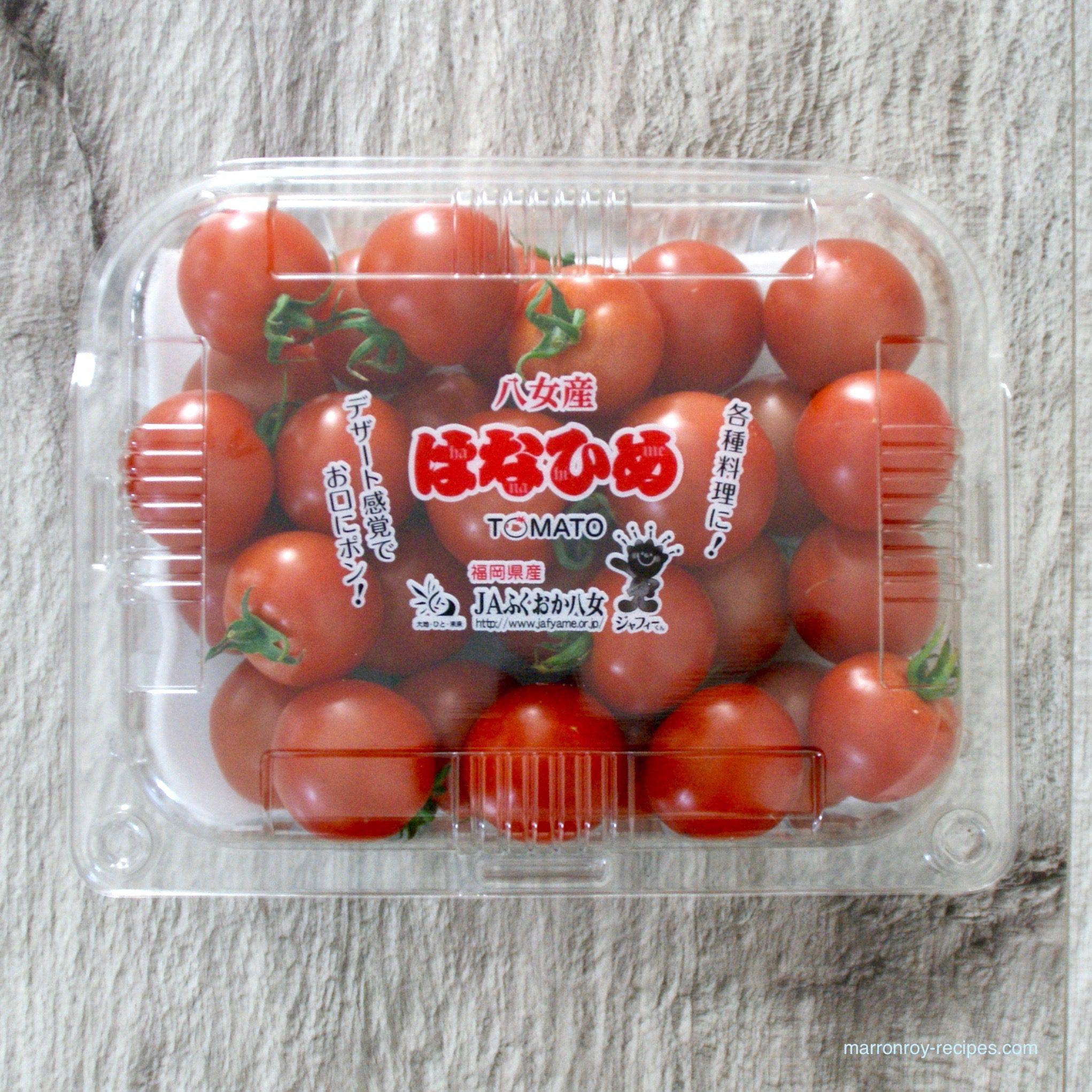"""コストコのトマト""""八女産 はなひめトマト""""で作る簡単ソース"""