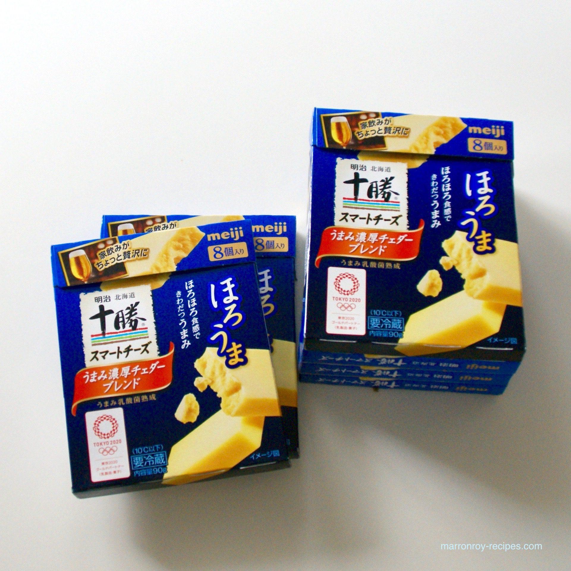 """久しぶりに国産チーズを買いました。""""明治 北海道十勝スマートチーズ"""""""