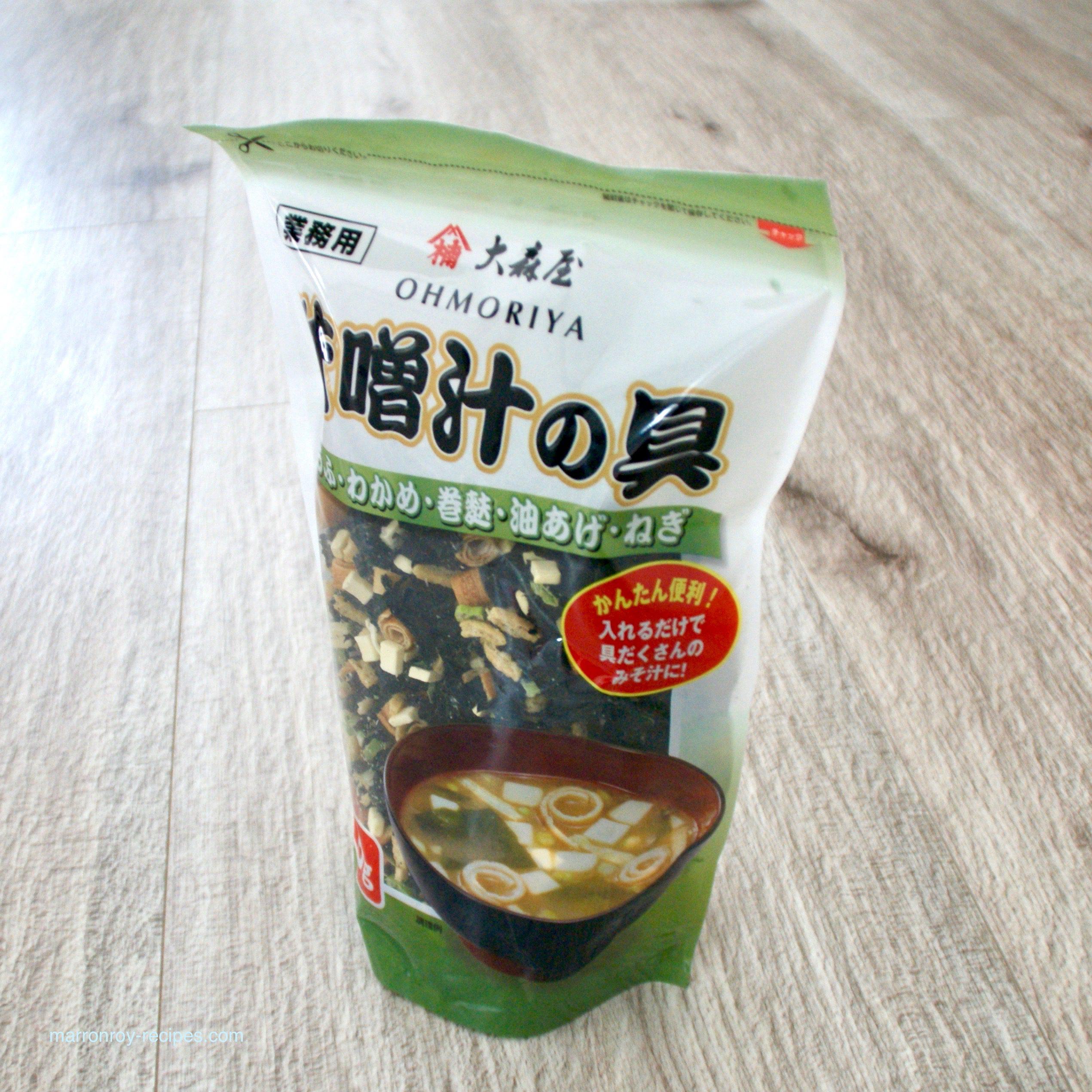 """コストコでちょっと便利なものを購入""""大森屋 味噌汁の具"""""""