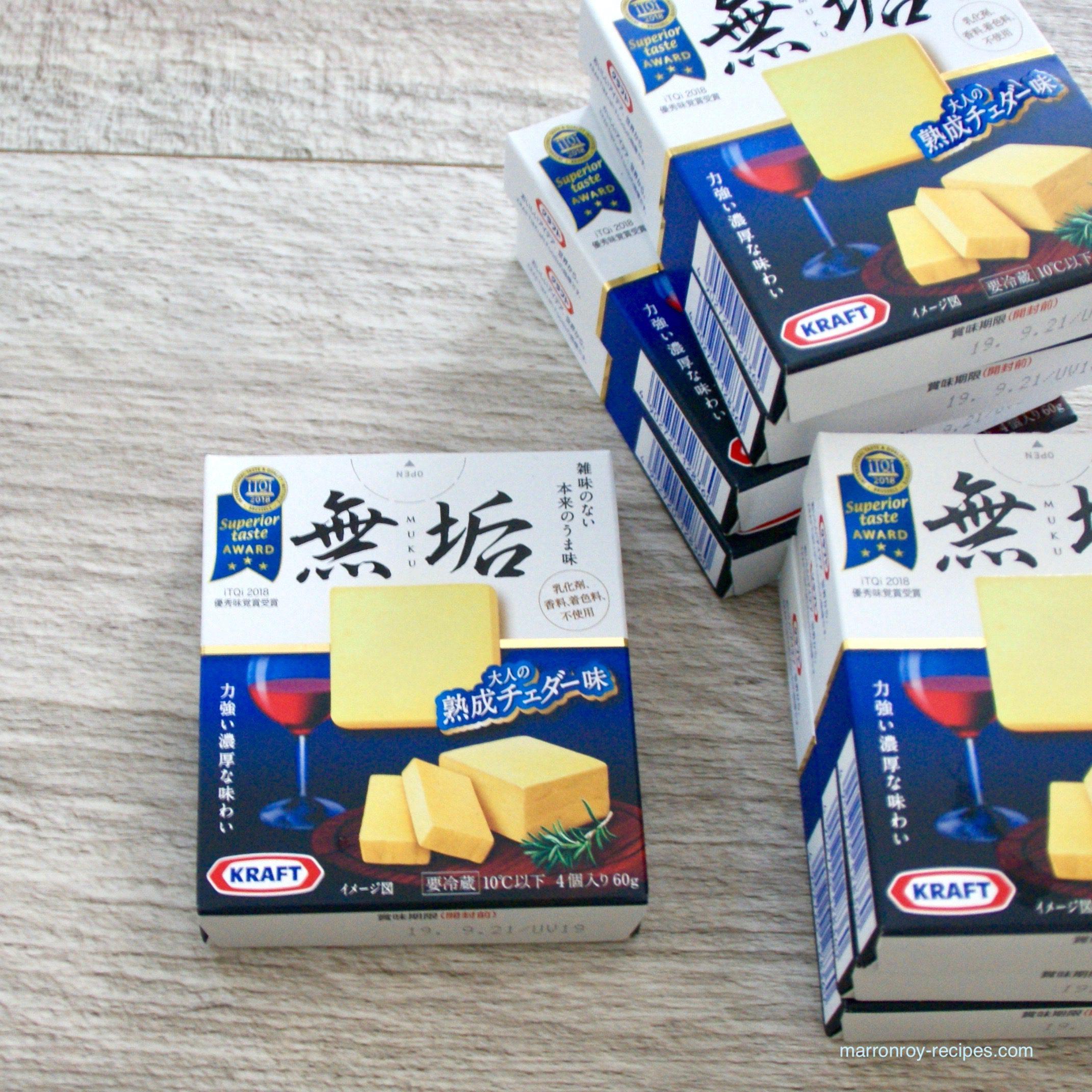 """コストコのチーズをおつまみに。""""クラフト 無垢"""""""