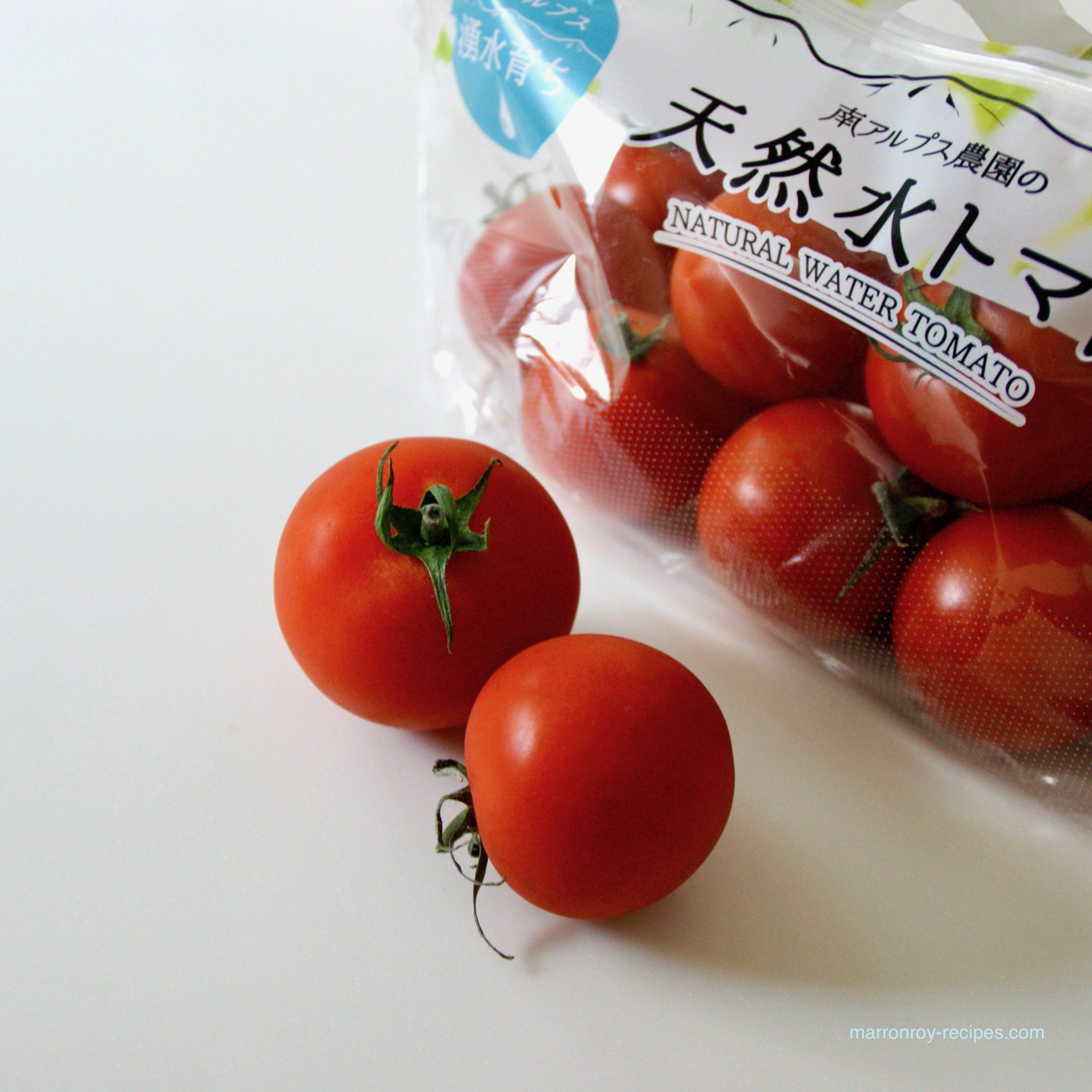 """コストコの野菜""""天然水トマト""""で作るトマトのチーズ焼き"""