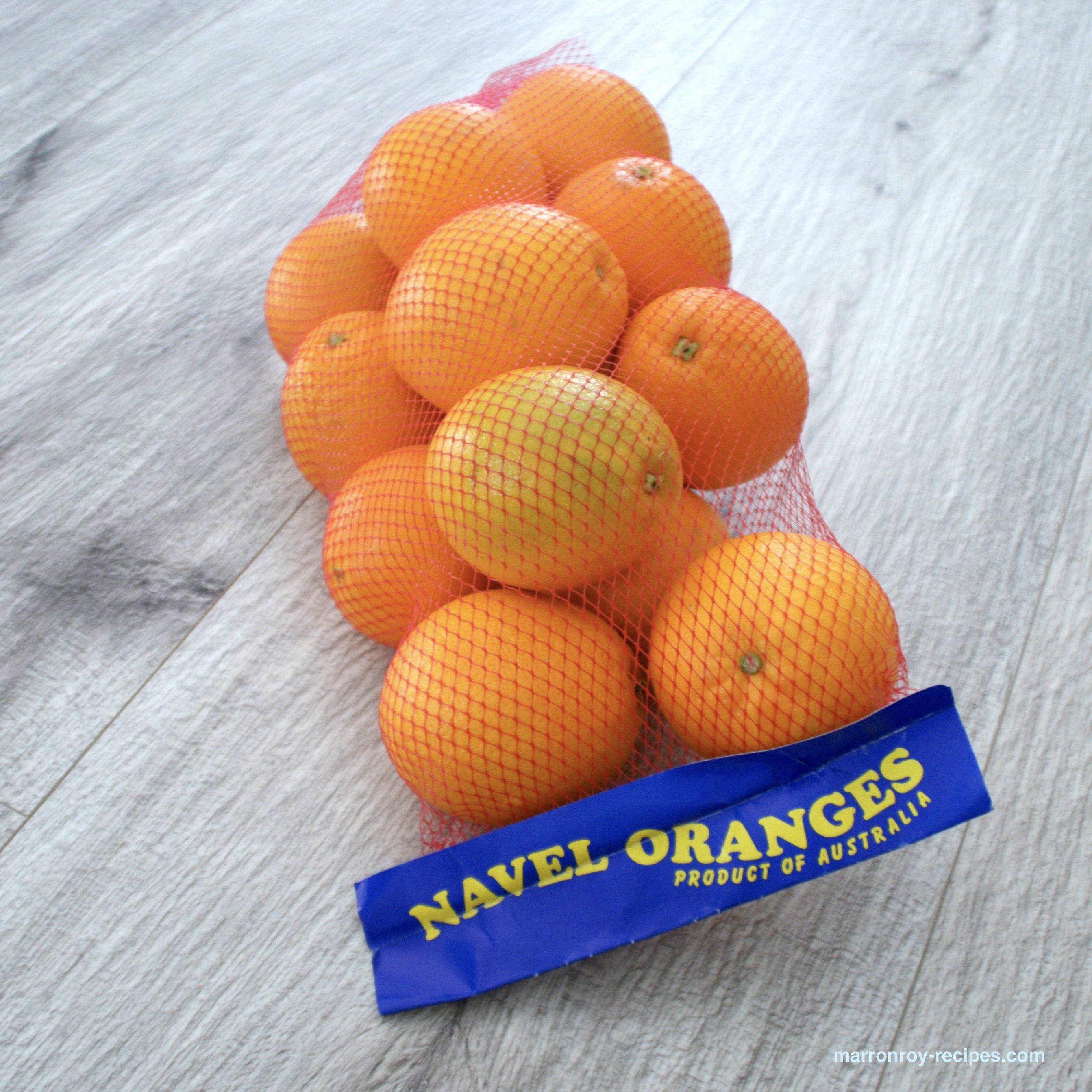 """ネーブルオレンジを買ったら""""オレンジコンポート""""を作りませんか?"""