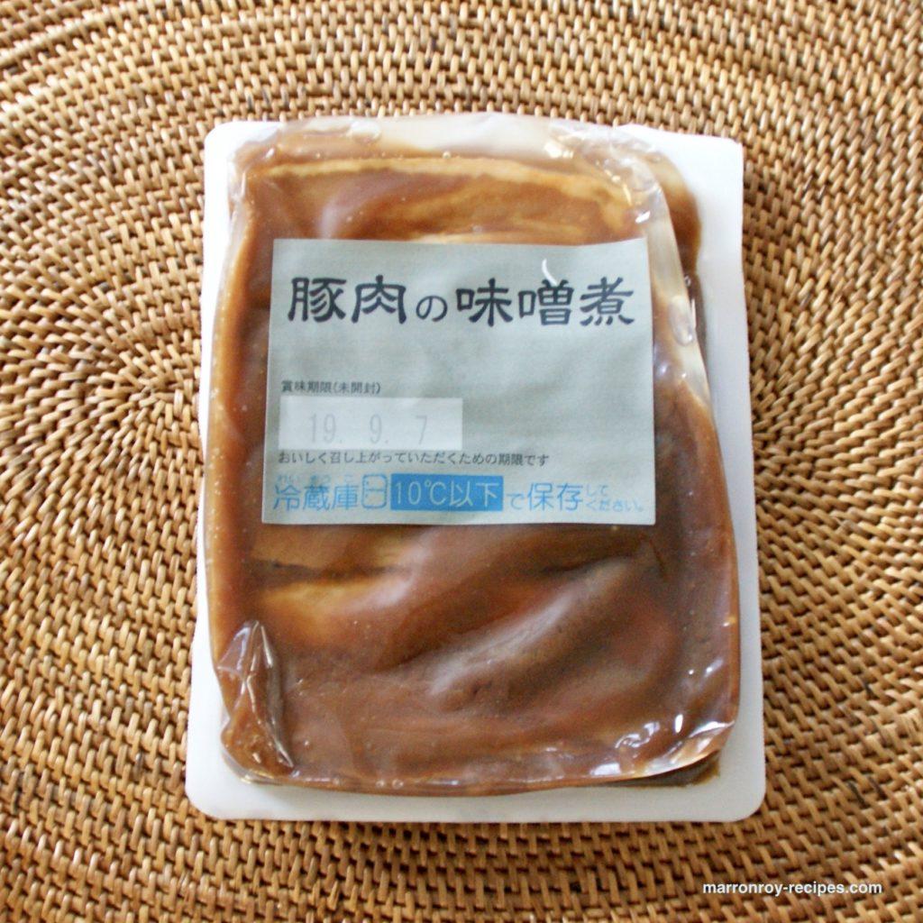 豚肉の味噌煮単品