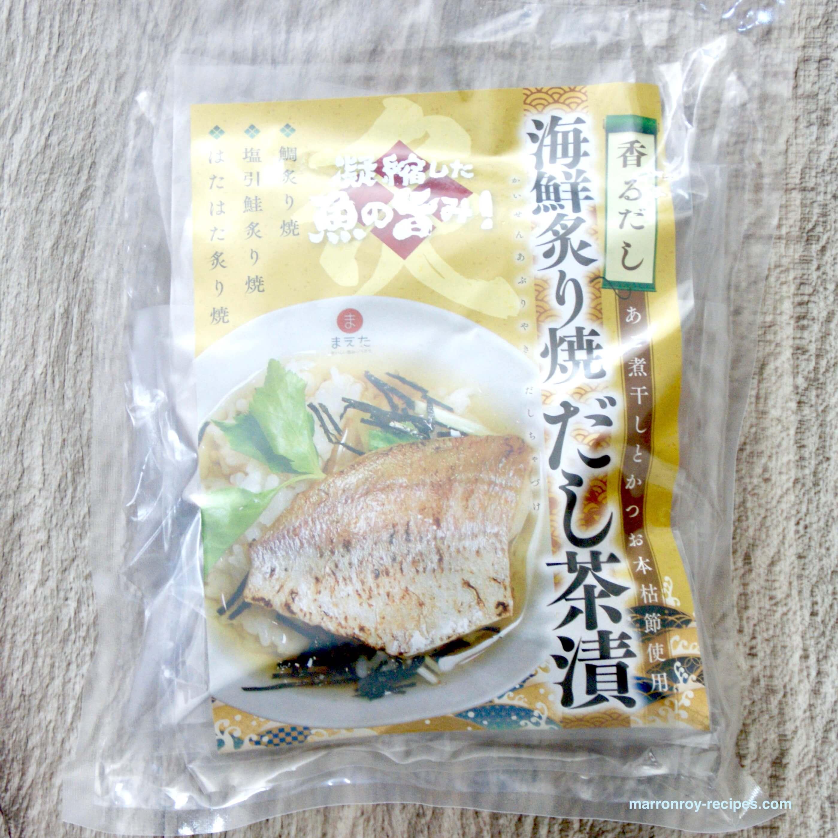 """コストコで高級茶漬けを購入!""""まえた 海鮮炙り焼 だし茶漬"""""""