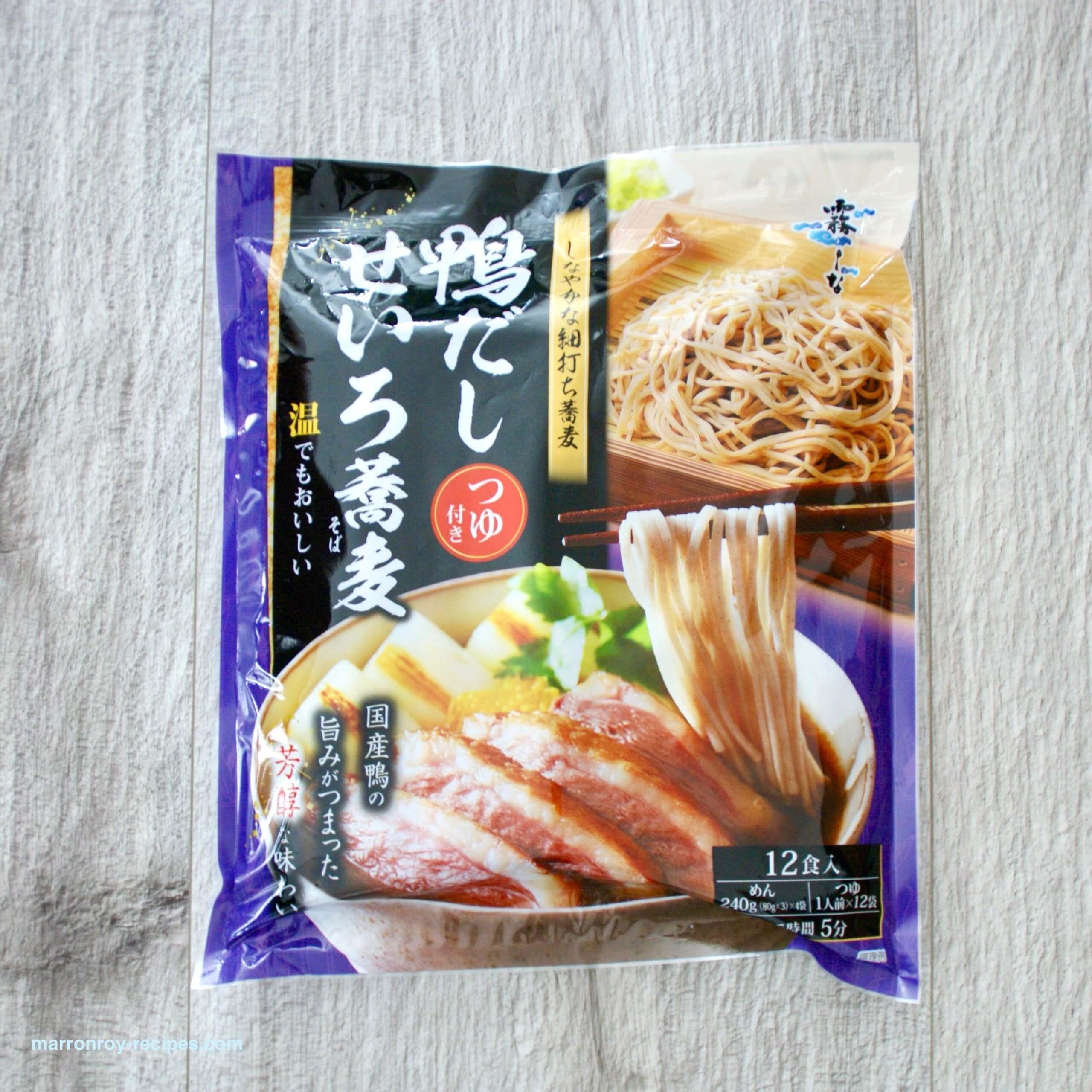 """年越し蕎麦にもおすすめ!コストコ""""霧しな 鴨だしせいろ蕎麦"""""""