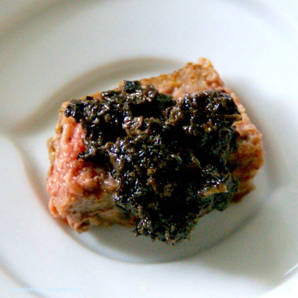 トリュフソース&肉