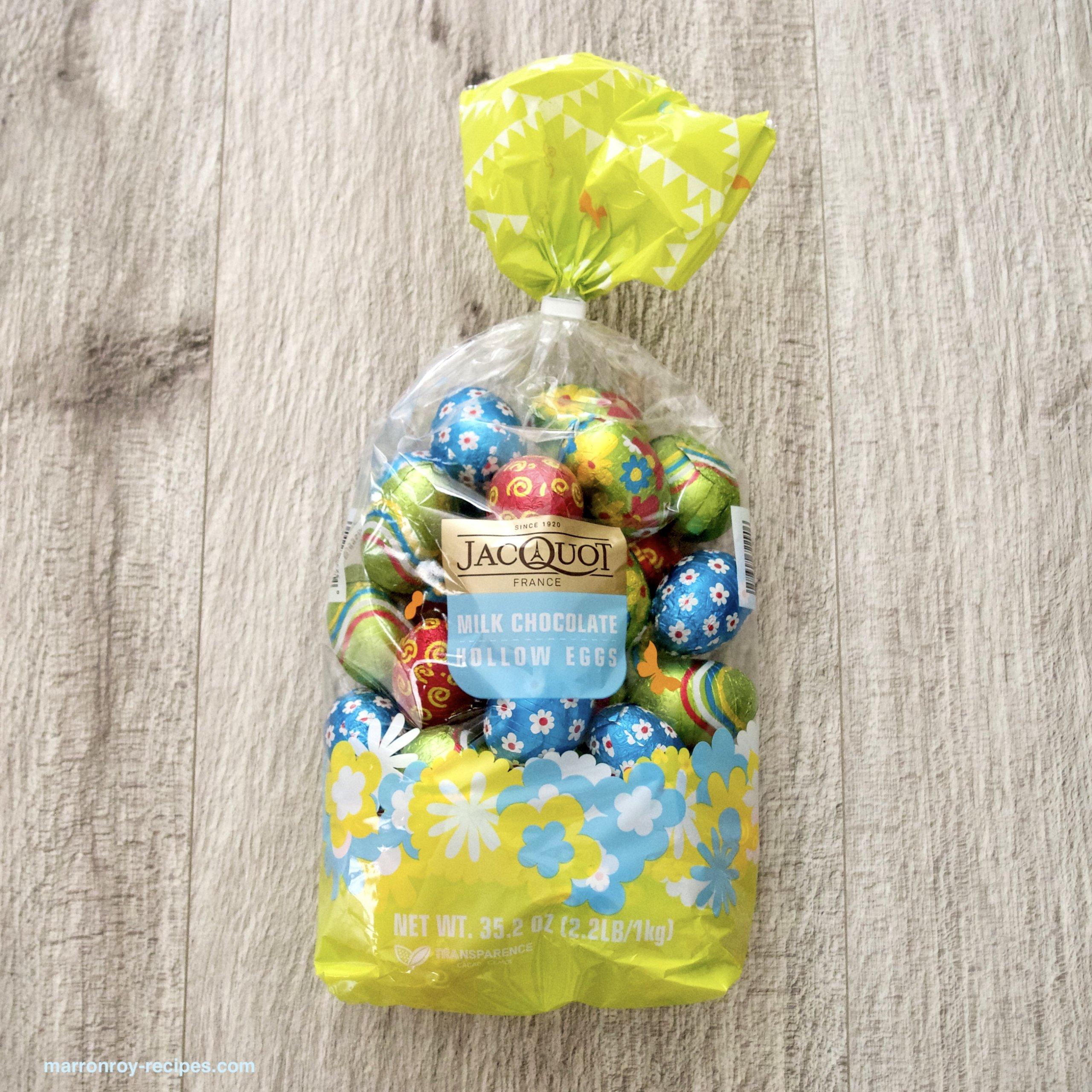 """コストコで購入できるイースターエッグ""""JACQUOT(ジャコー)ミルクチョコレートエッグ"""""""