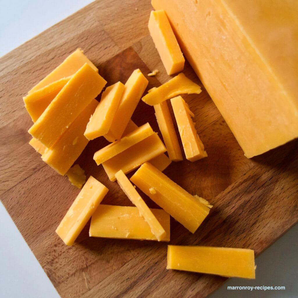 チェダーチーズカット