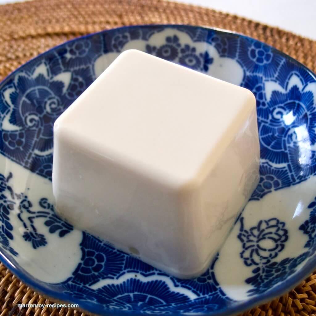 安曇野豆腐中身