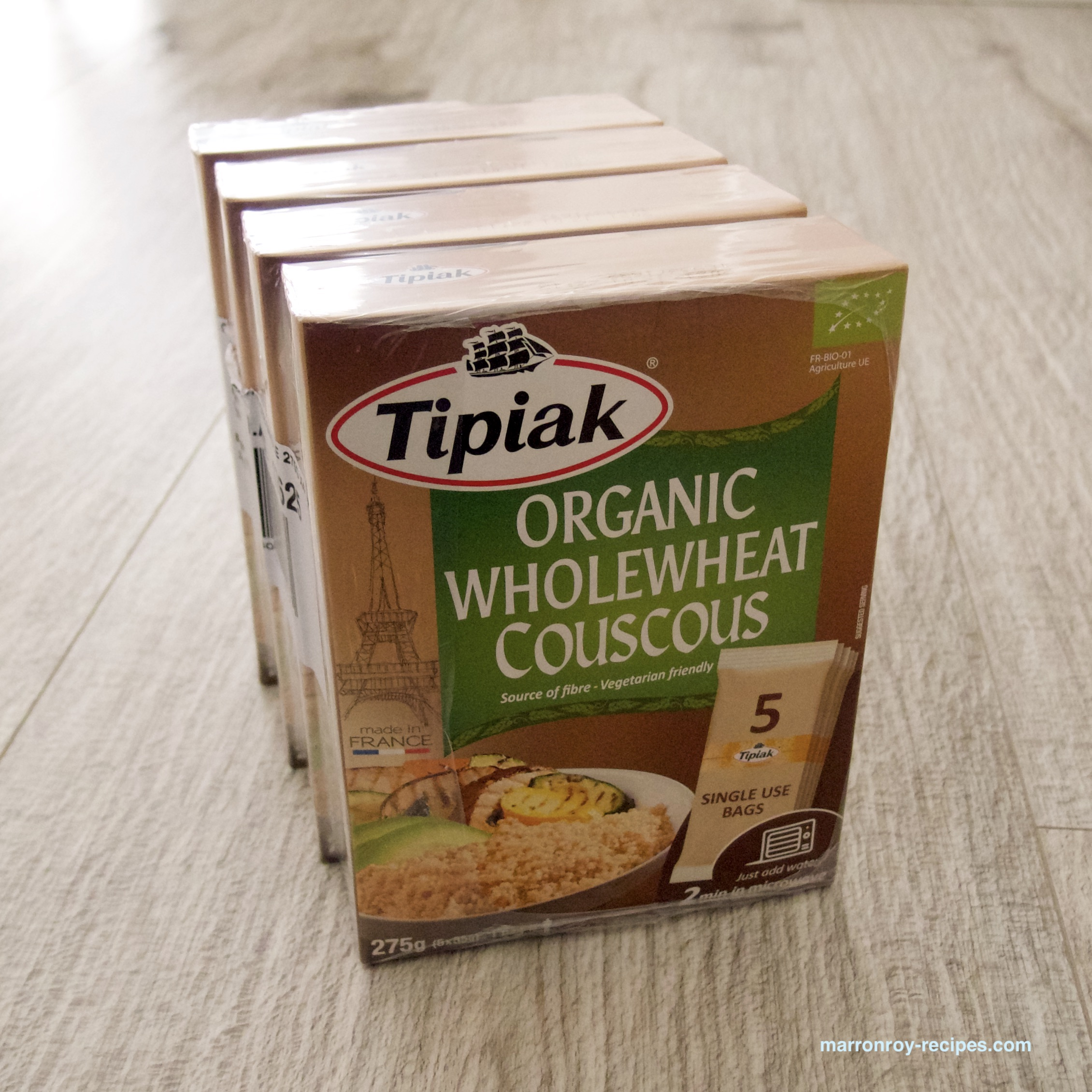 """今まで買った中で1番便利!""""Tipiak(ティピアック) オーガニック ホールウィート クスクス"""""""
