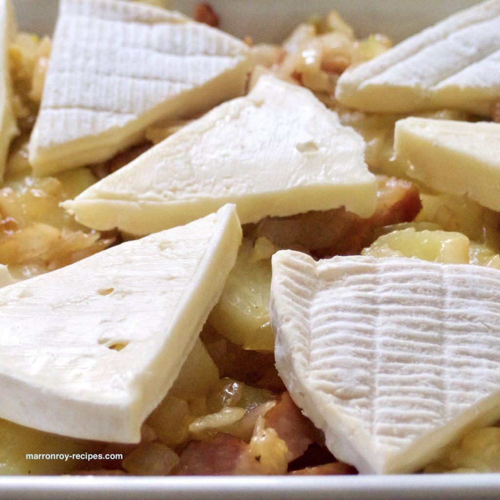 タルティフレッド チーズ並び