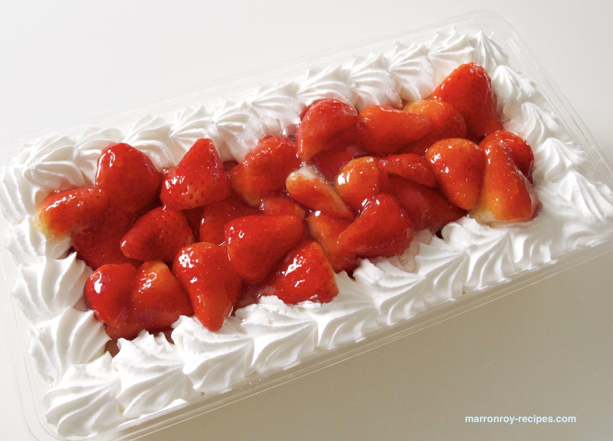 """コストコのデザートに新商品!""""ストロベリースコップケーキ"""""""