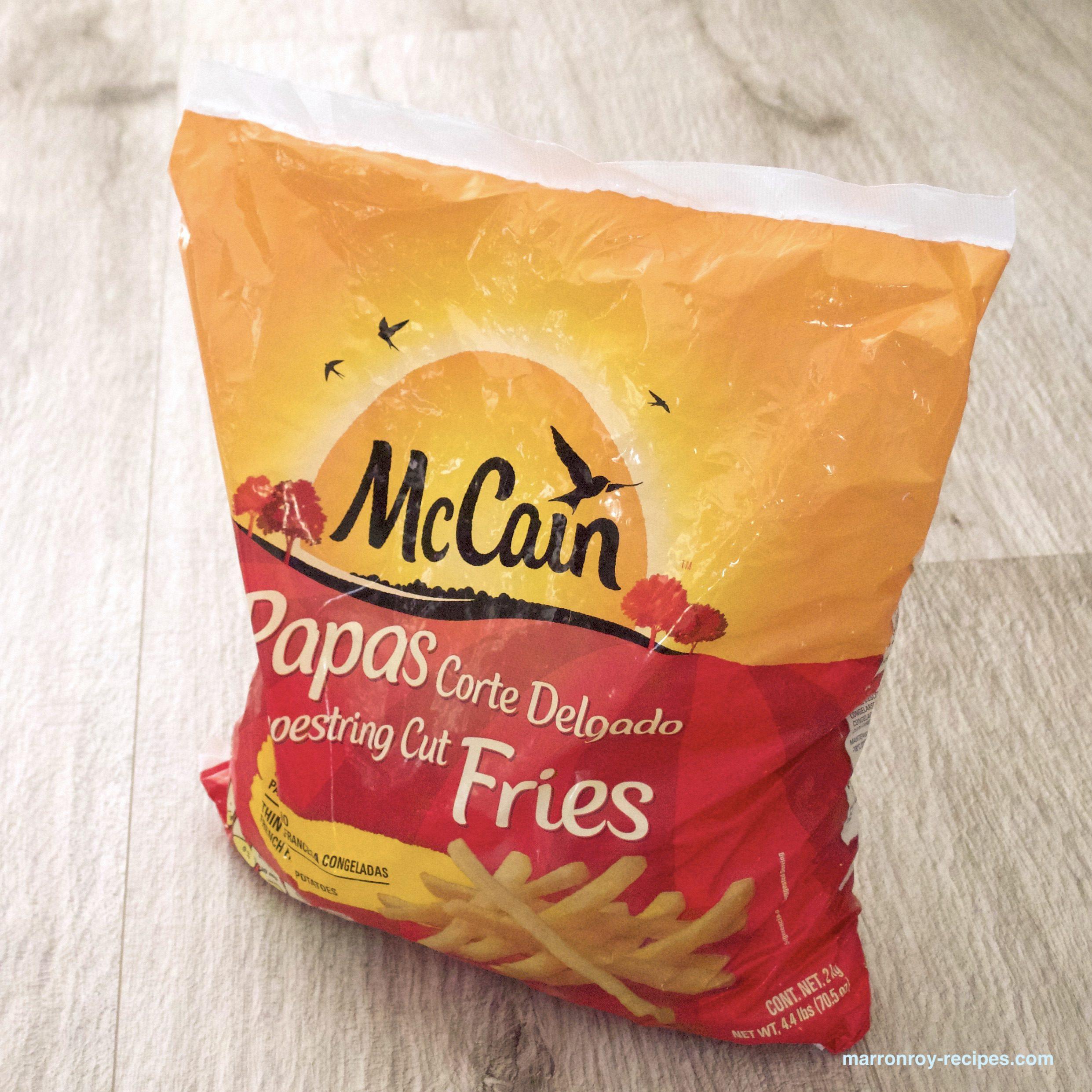 """どっちが好き?""""McCain(マッケイン)シューストリングポテト""""の調理法"""