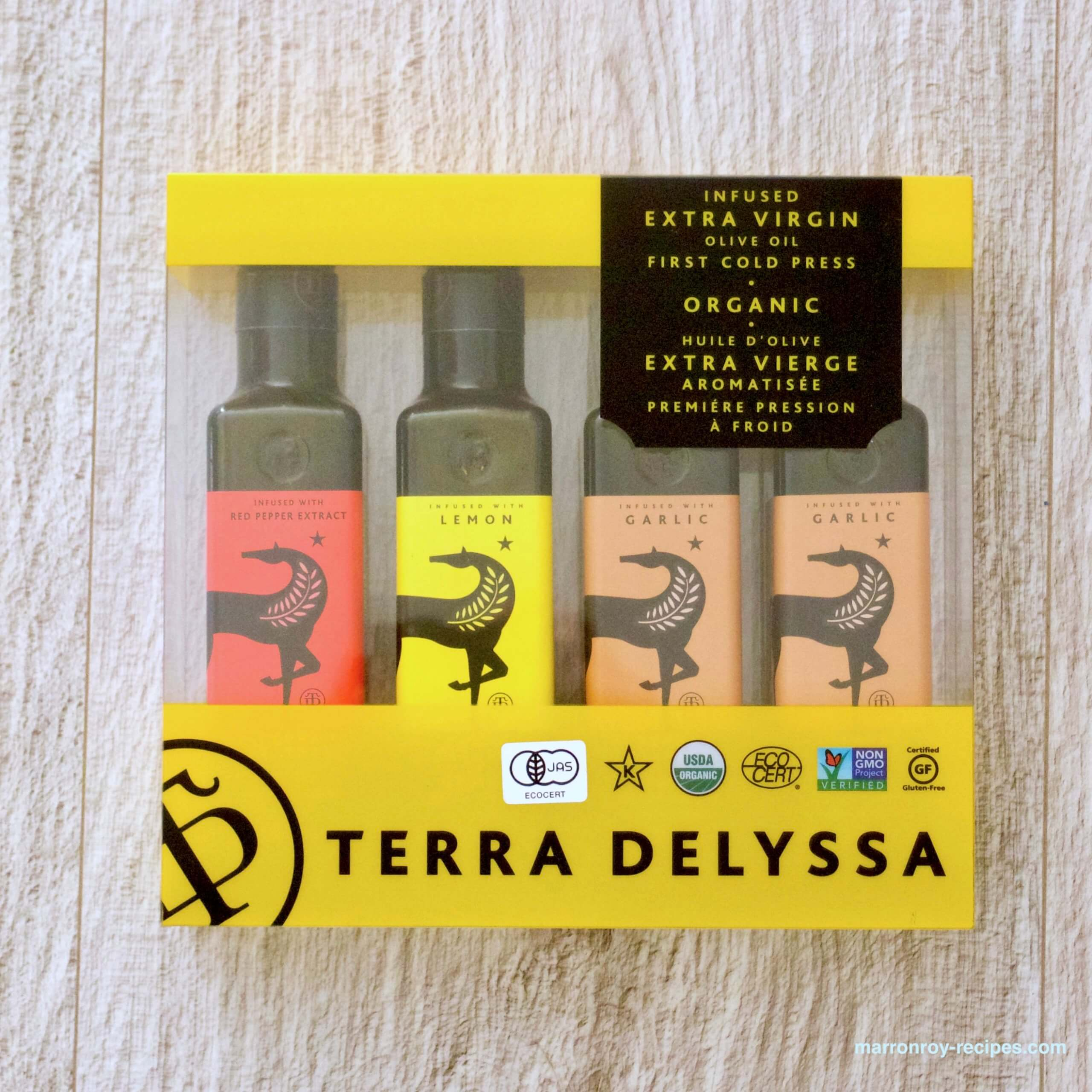 テラデリッサ4種セット