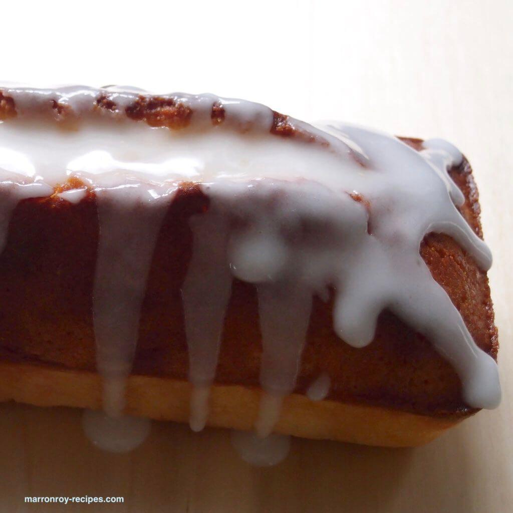 パウンドケーキアイシング