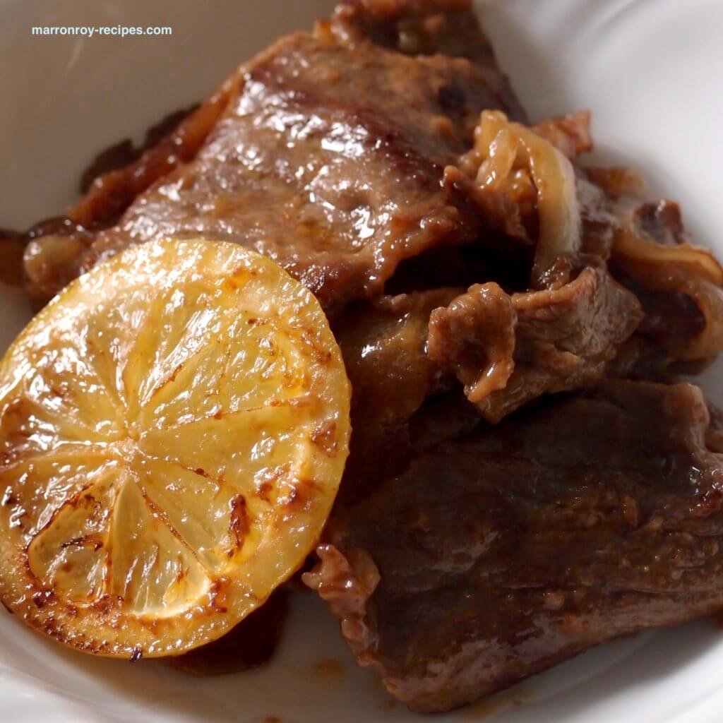 lemon steak dekiagari