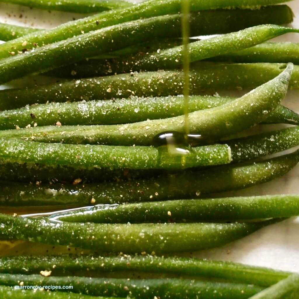 french beans oil