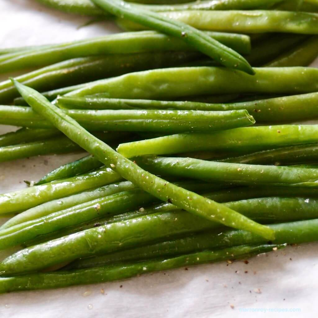 french beans end