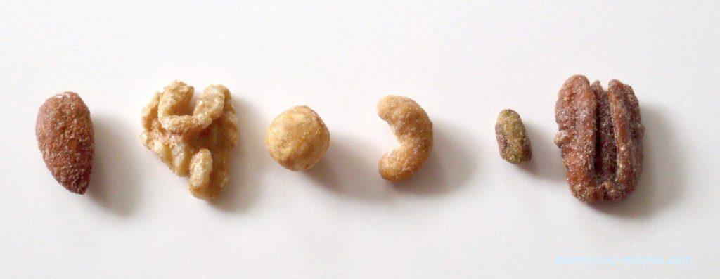 メープルナッツ種類
