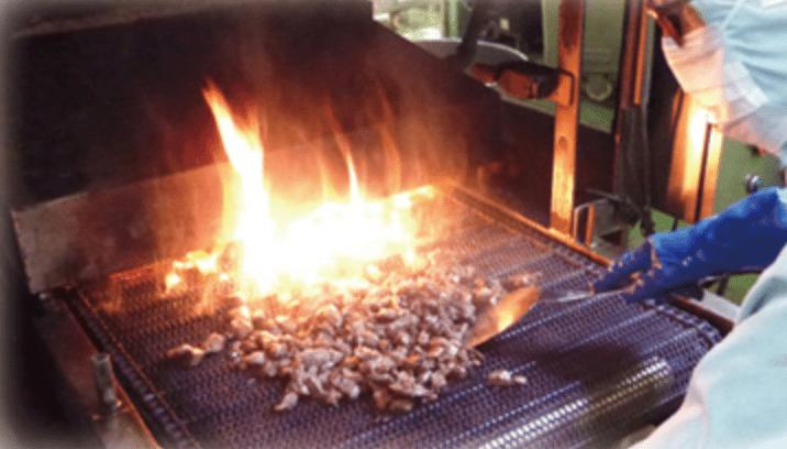 炭火焼ライン