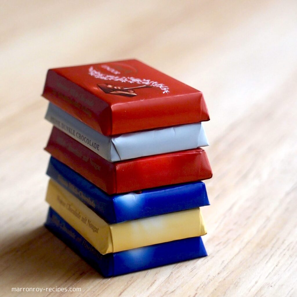 stacking lindt