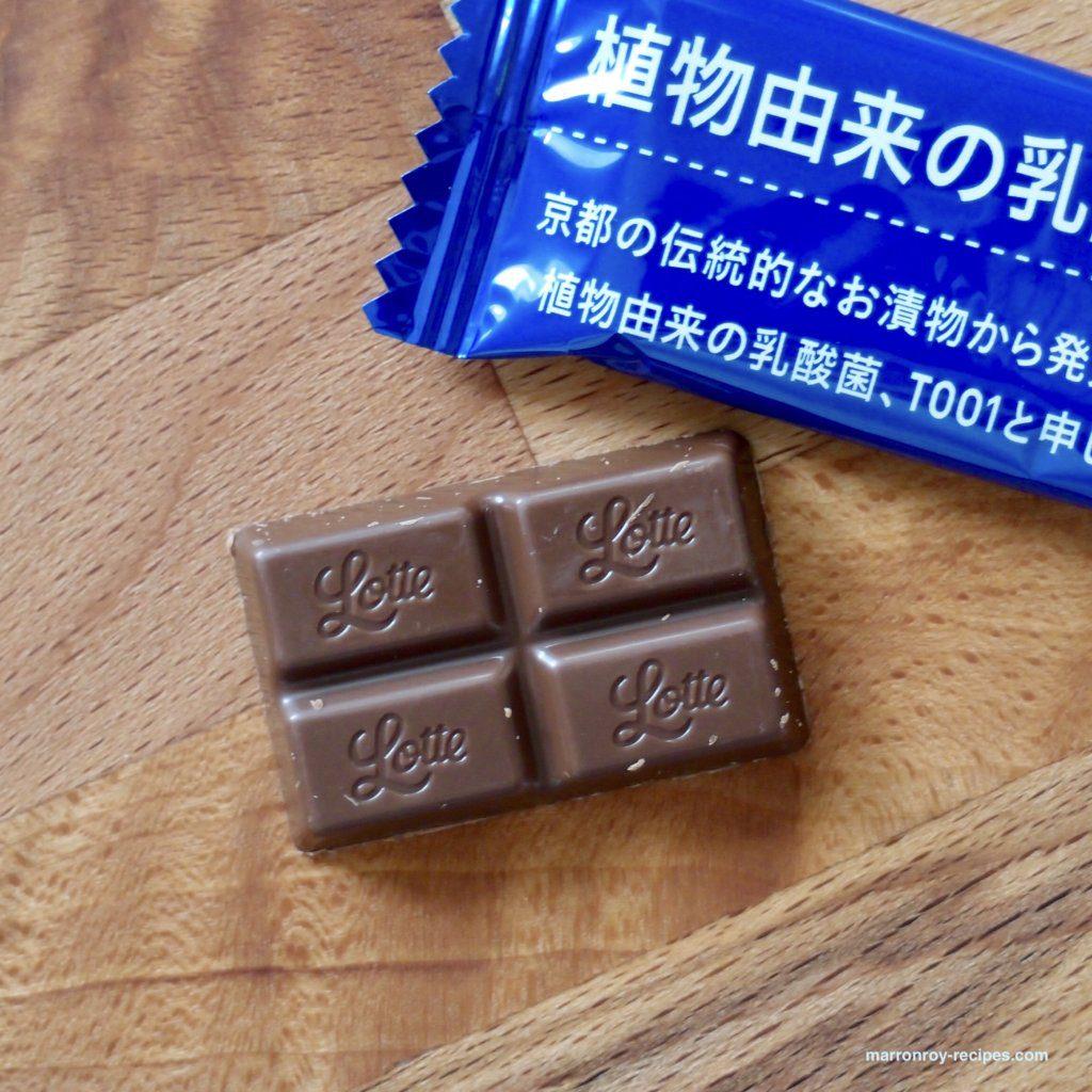 乳酸菌ショコラ1粒