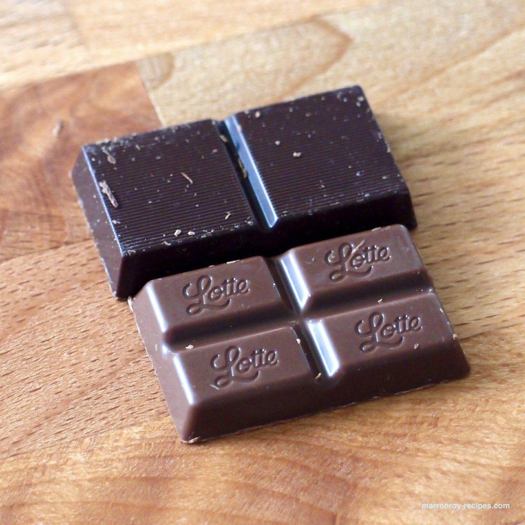 チョコ比較