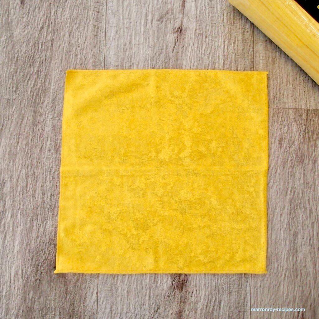 1枚のタオル