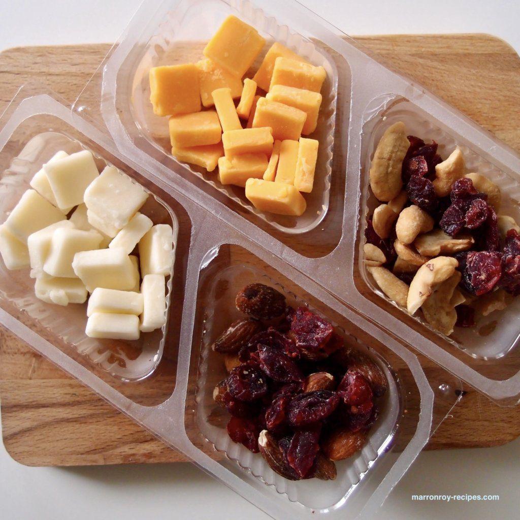 チーズ&フルーツ中身