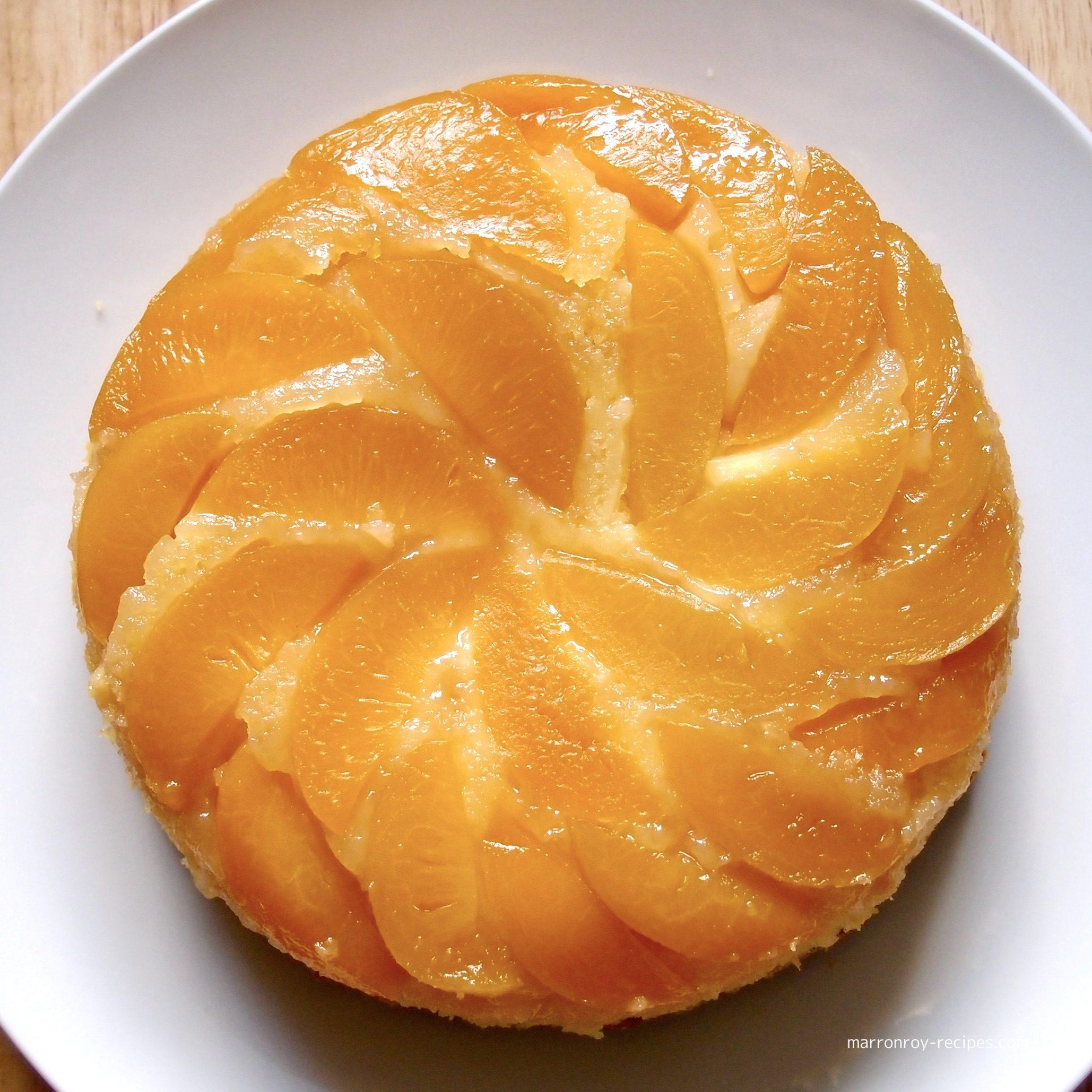 ピーチアップサイドダウンケーキ